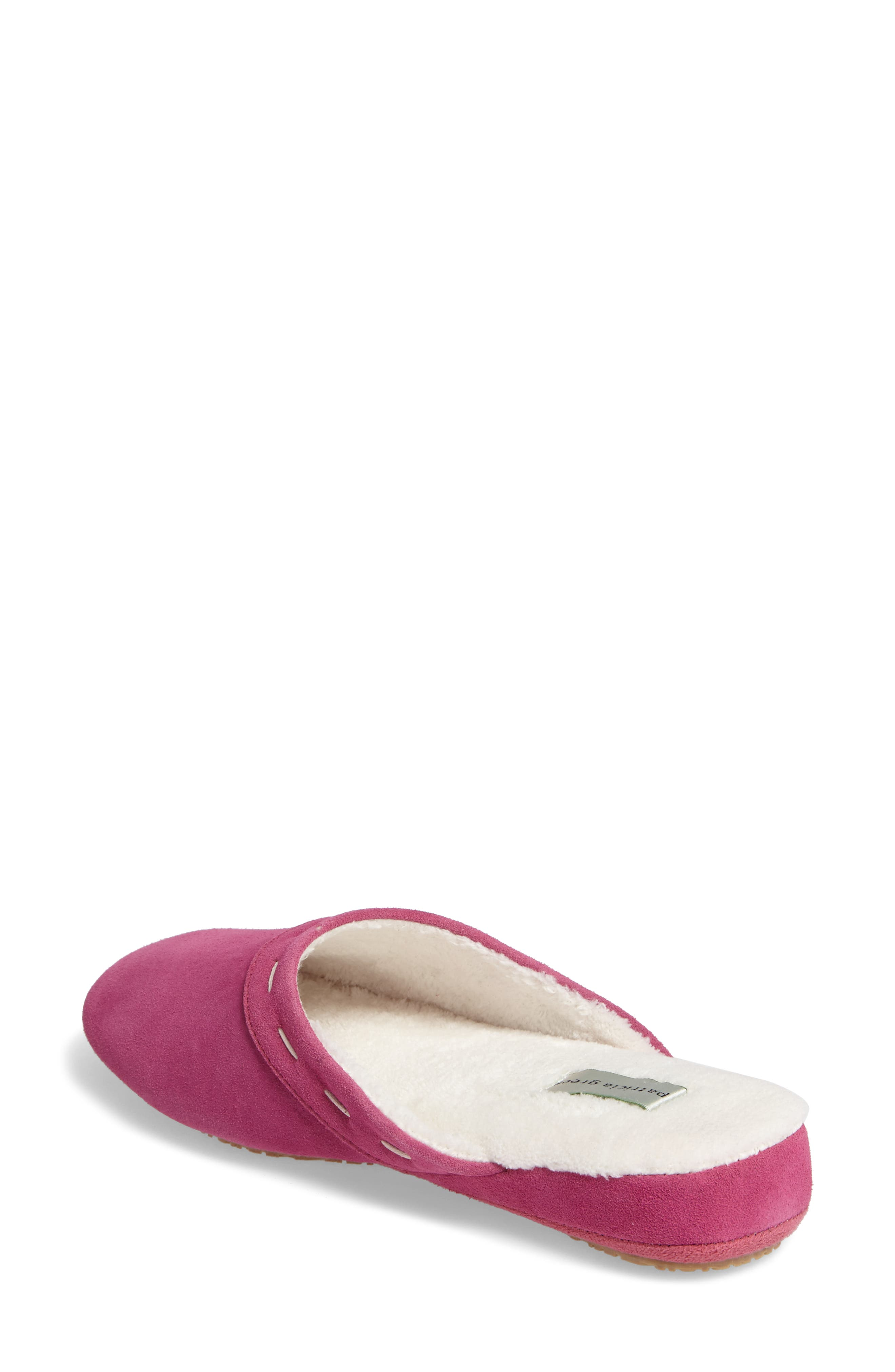 Mayfair Wedge Slipper,                             Alternate thumbnail 2, color,                             Hot Pink Suede