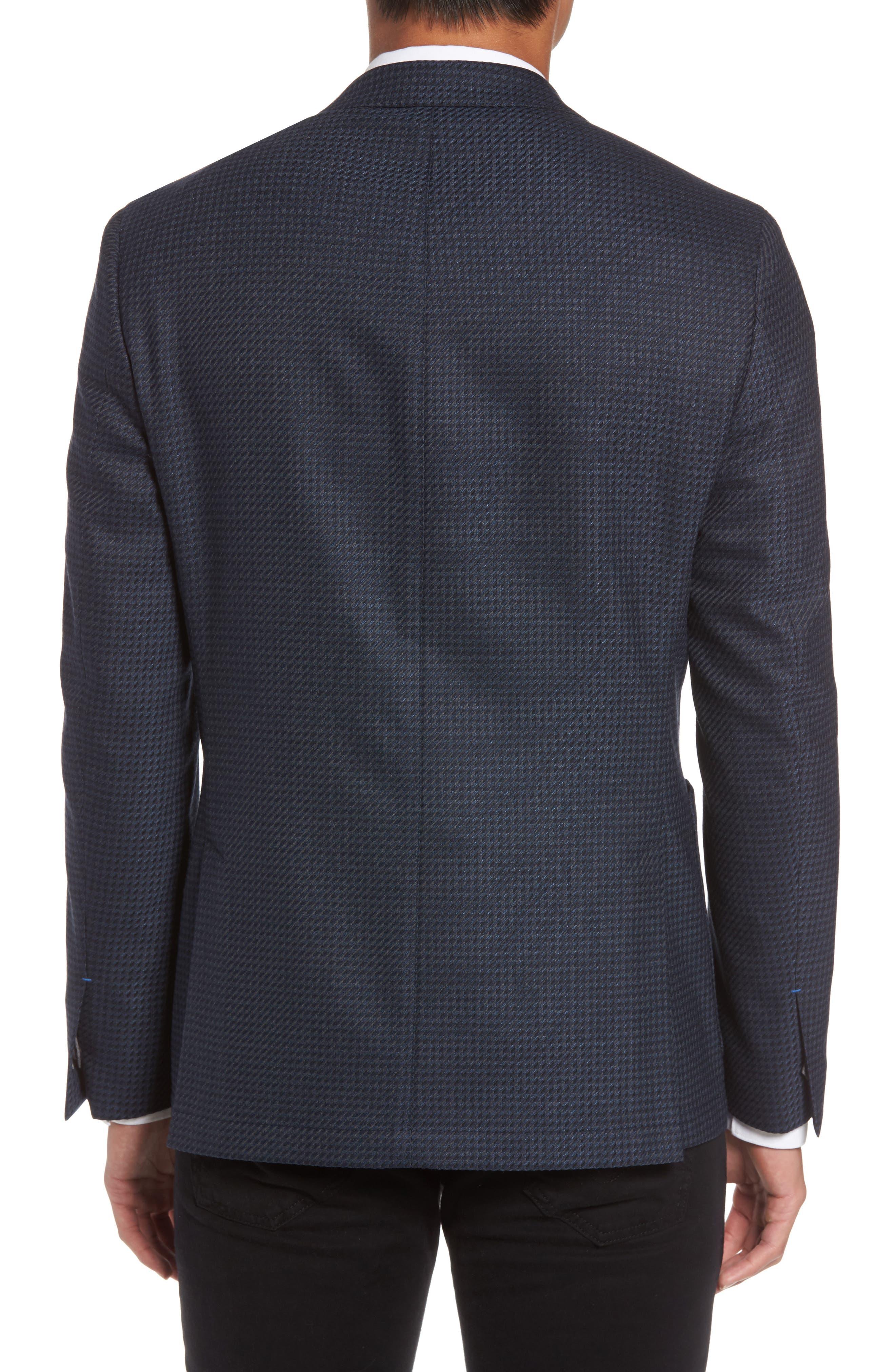 Alternate Image 2  - Vince Camuto Digital Houndstooth Wool Blend Sport Coat