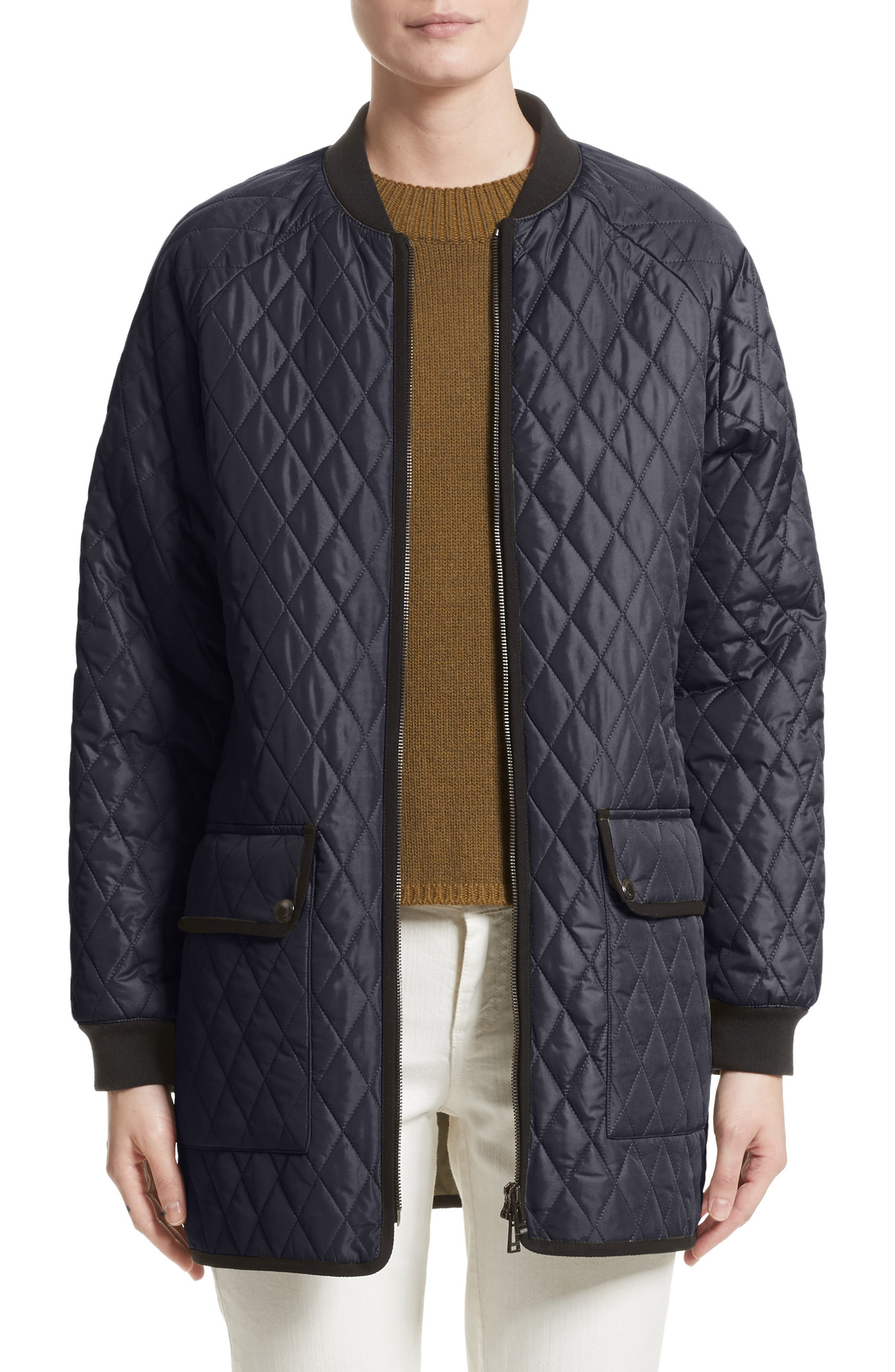 Rackham Quilted Jacket,                         Main,                         color, Navy