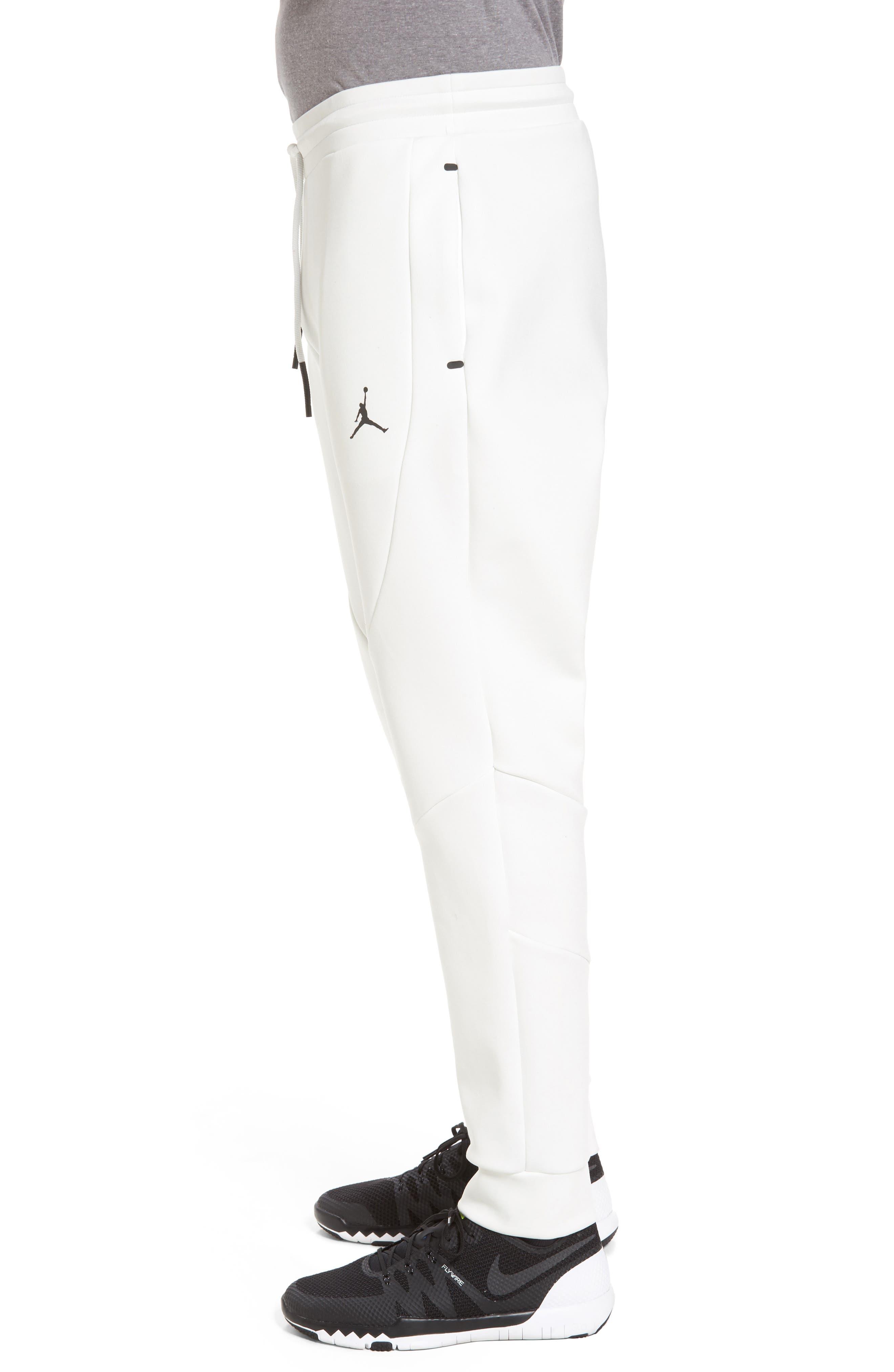Sportswear Flight Tech Pants,                             Alternate thumbnail 3, color,                             Summit White/ Black
