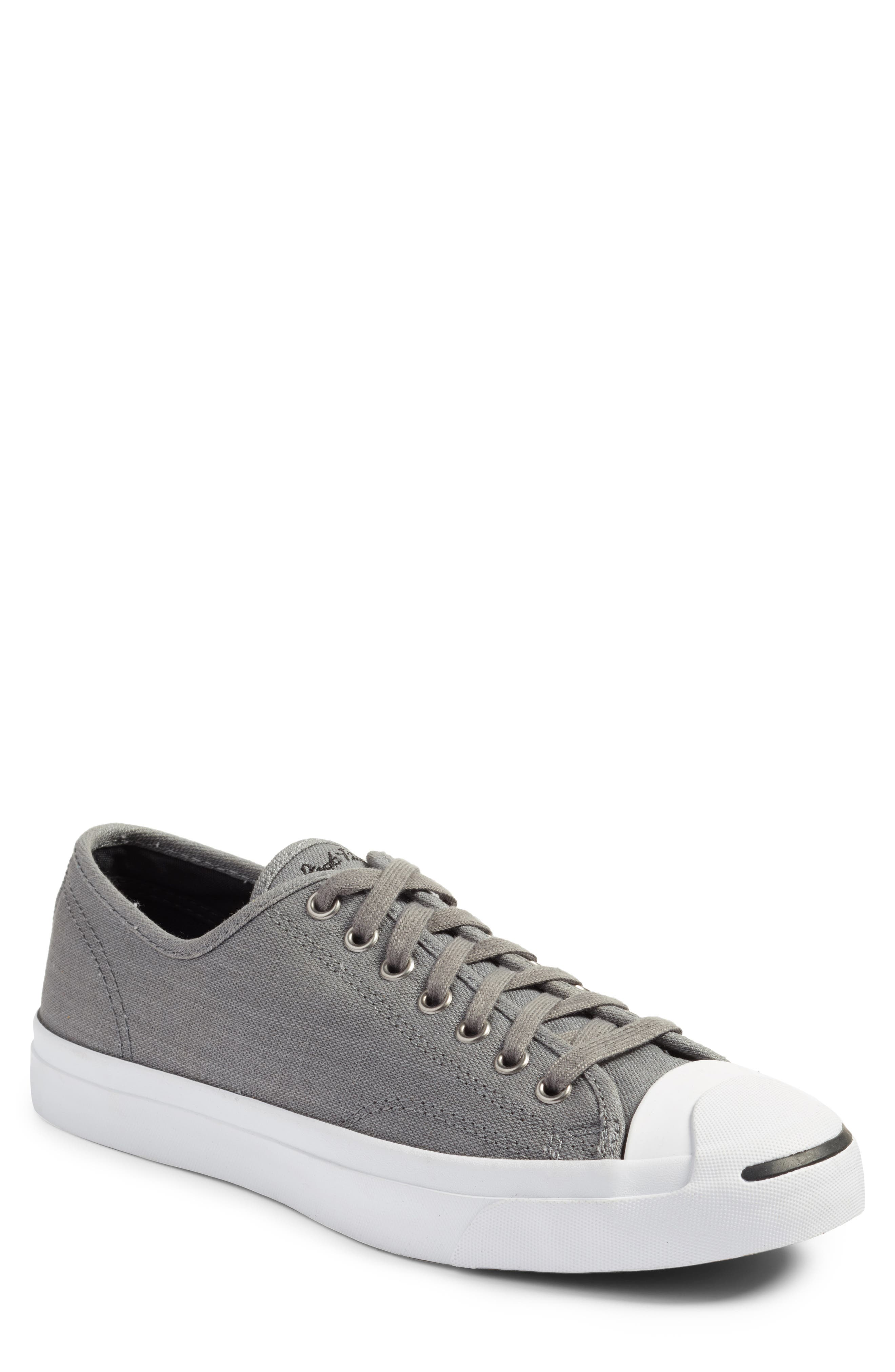 Jack Purcell Ox Sneaker,                             Main thumbnail 1, color,                             Mason Grey/ White