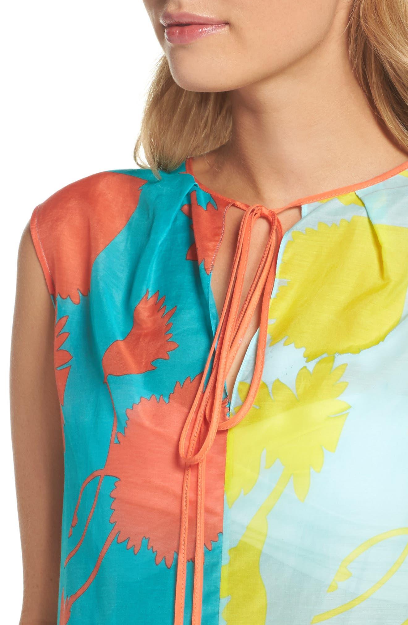 Alternate Image 4  - Diane von Furstenberg Cover-Up Dress