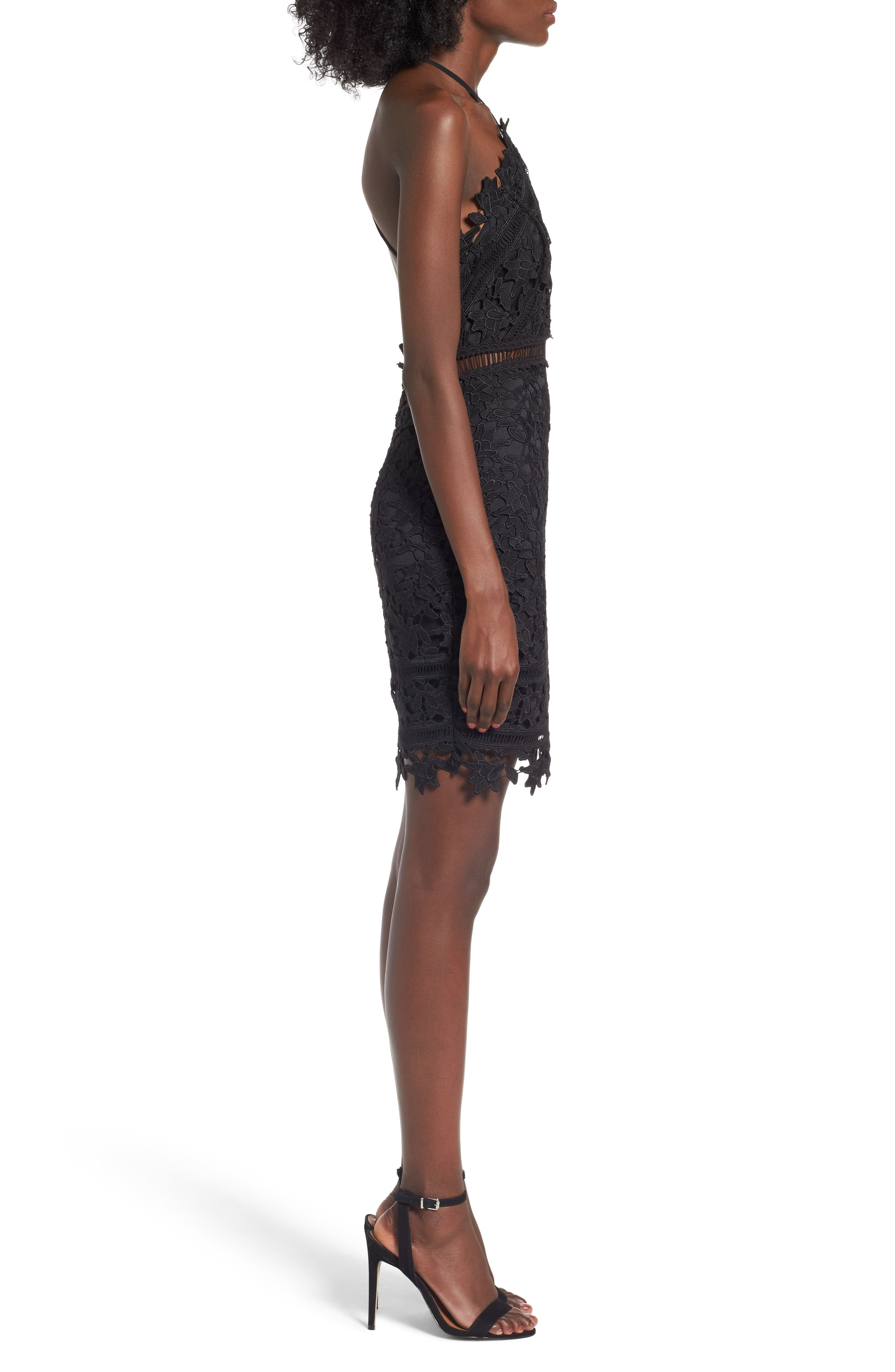 Alternate Image 3  - ASTR the Label Lace Body-Con Dress