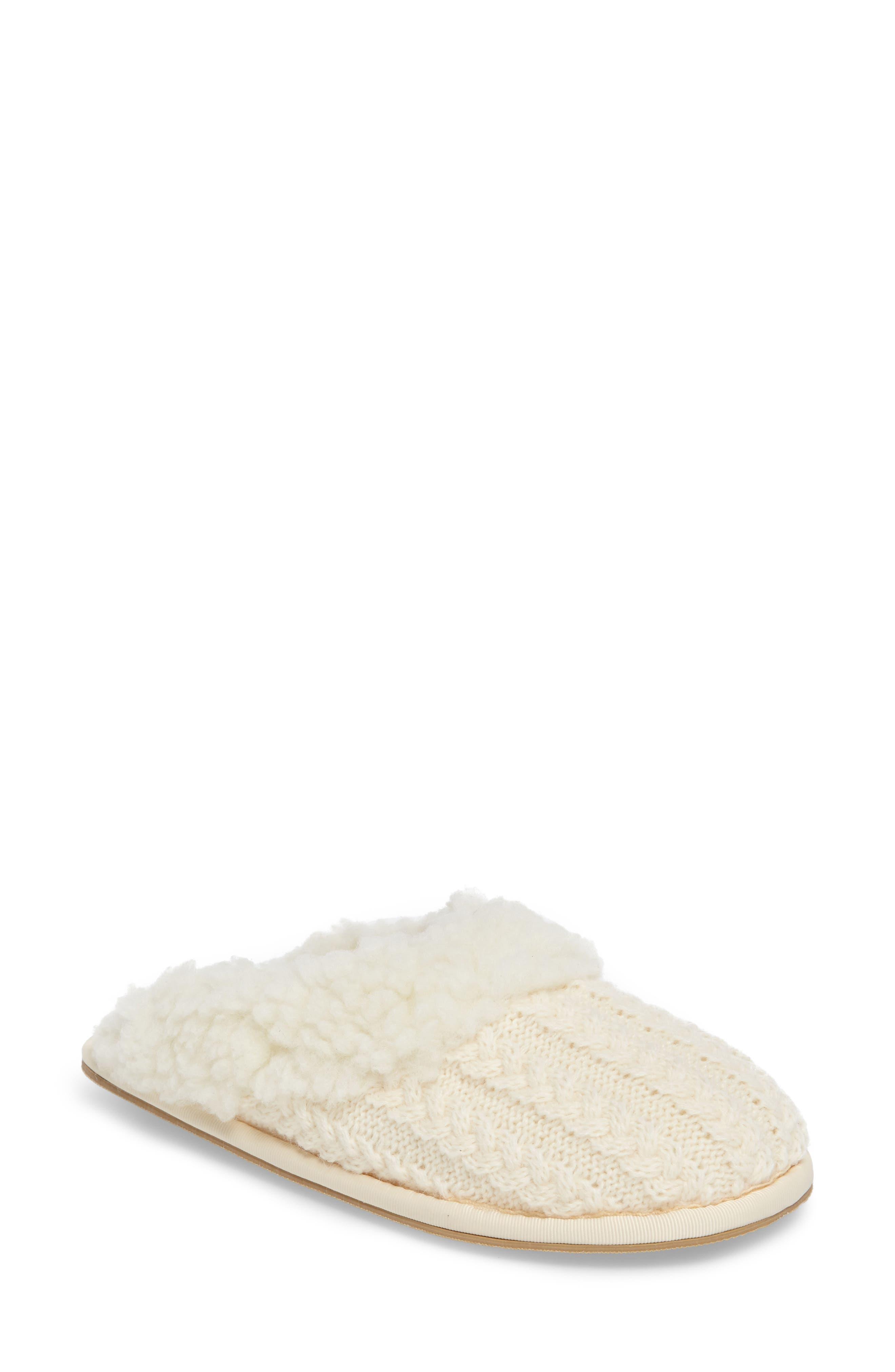 patricia green Celia Cable Knit Slipper (Women)