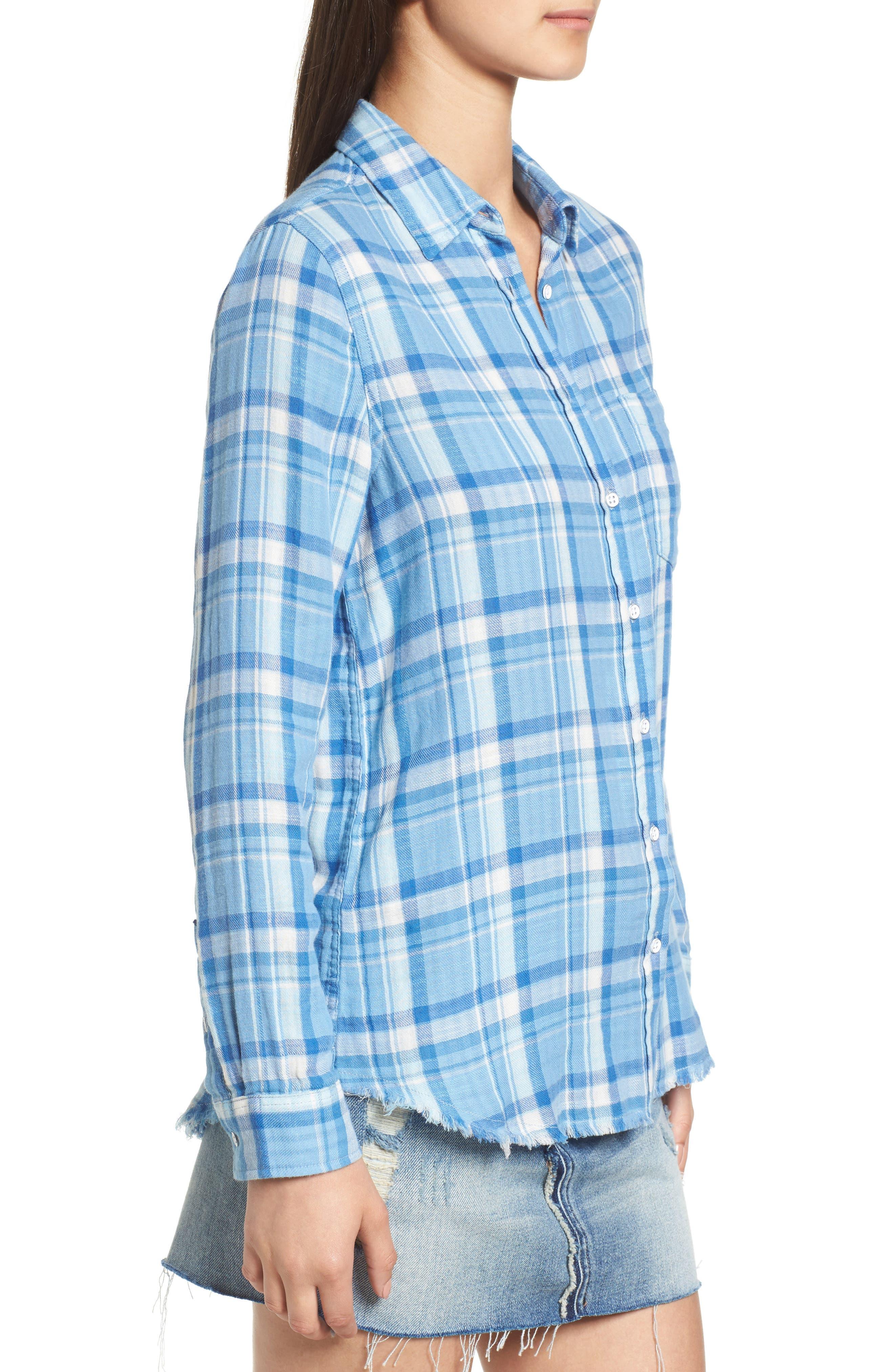 Alternate Image 3  - DL1961 Mercer & Spring Frayed Shirt