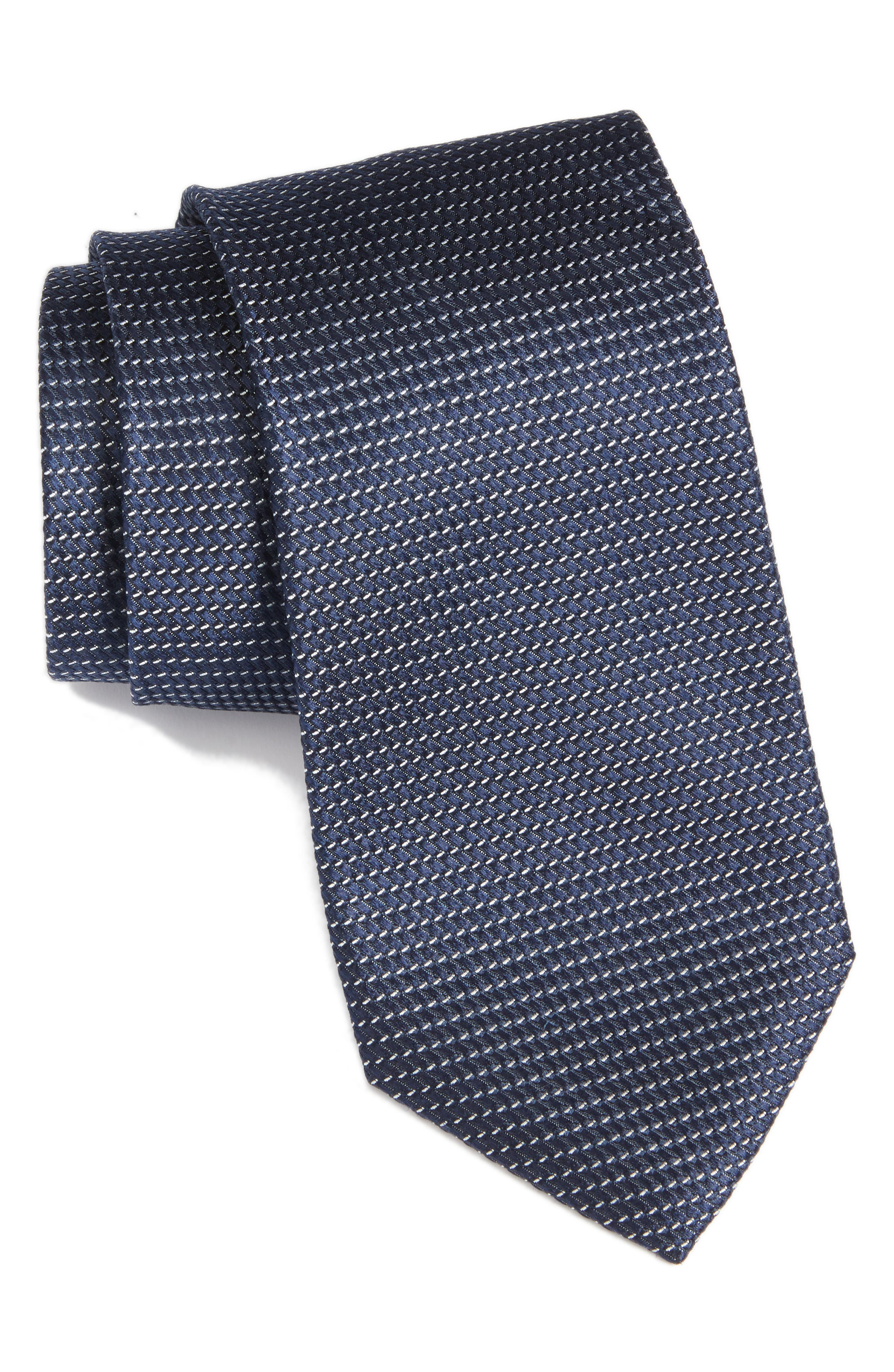 Main Image - Nordstrom Men's Shop Chiana Mini Silk Tie