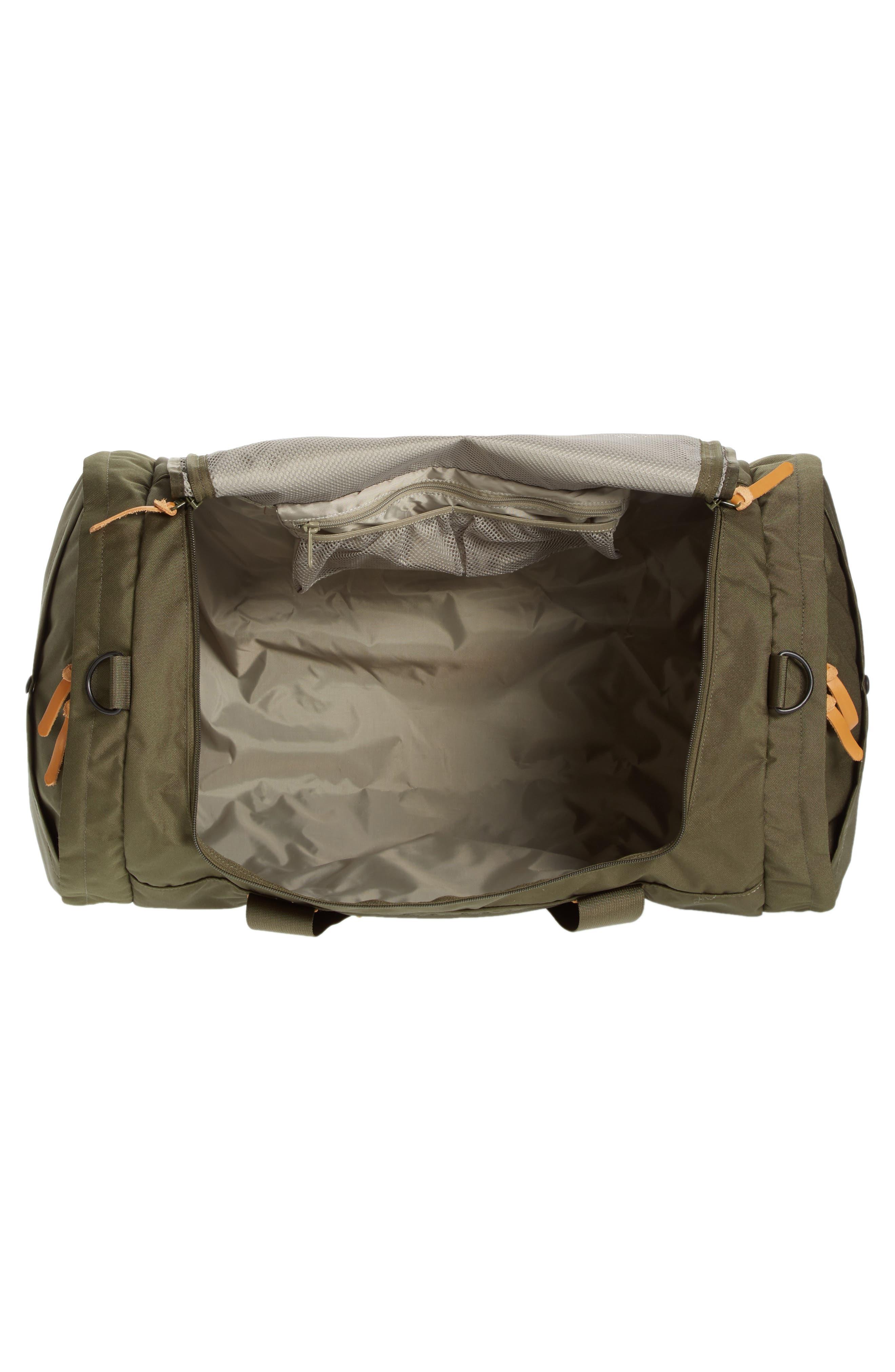 Arc Duffel Bag,                             Alternate thumbnail 4, color,                             Olive