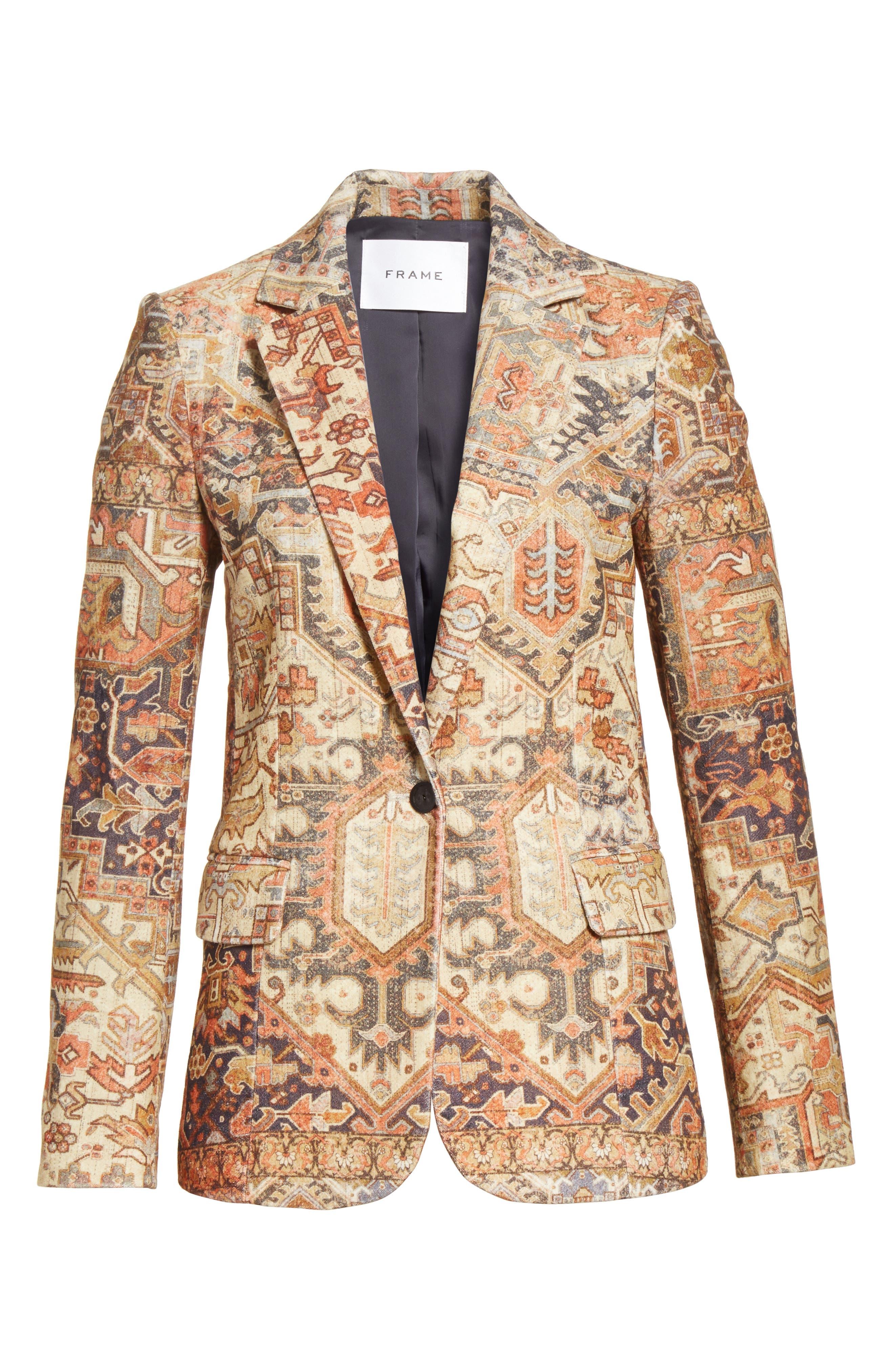 Alternate Image 7  - FRAME Persian Classic Blazer