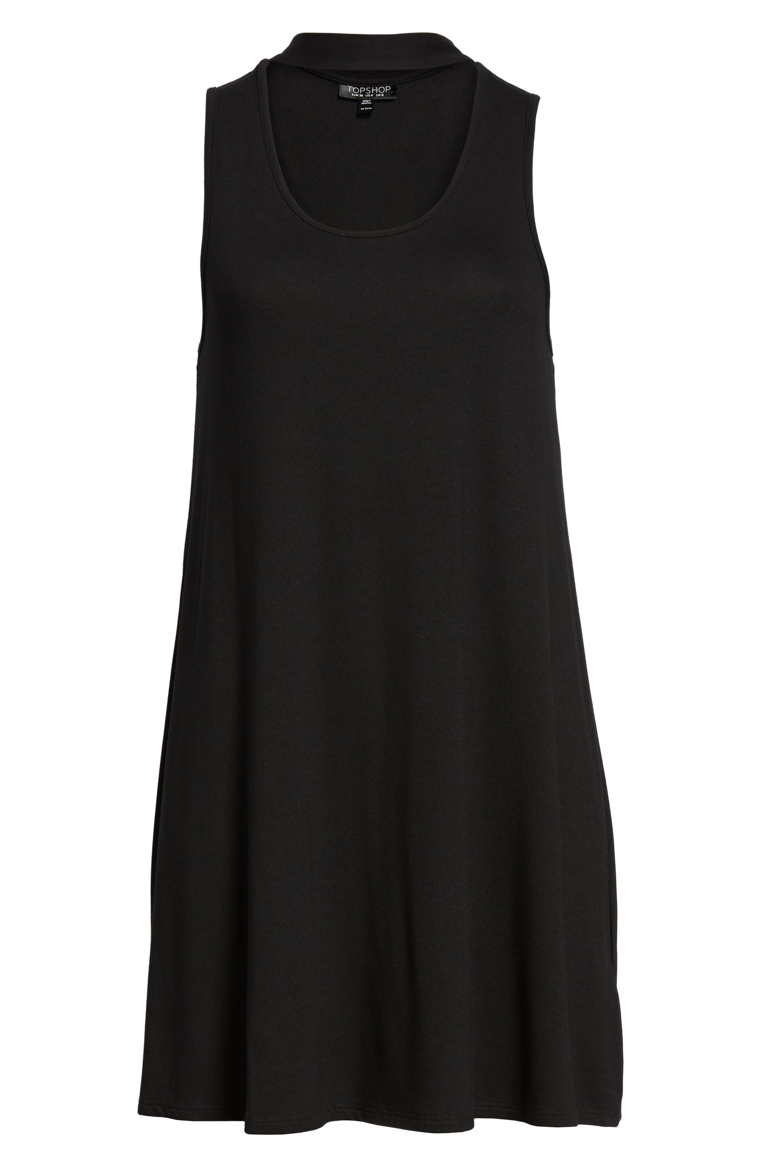 Alternate Image 5  - Topshop Choker Flippy Tunic