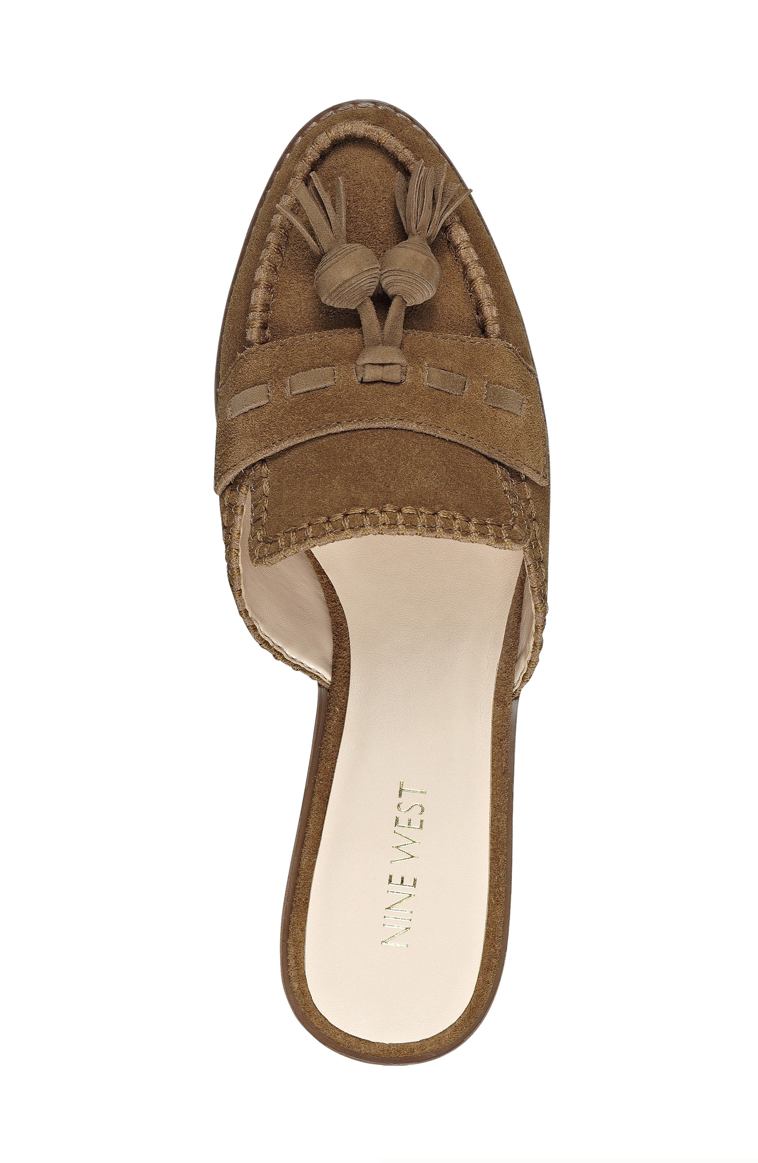 Alternate Image 5  - Nine West Vesuvio Tassel Loafer Mule (Women)