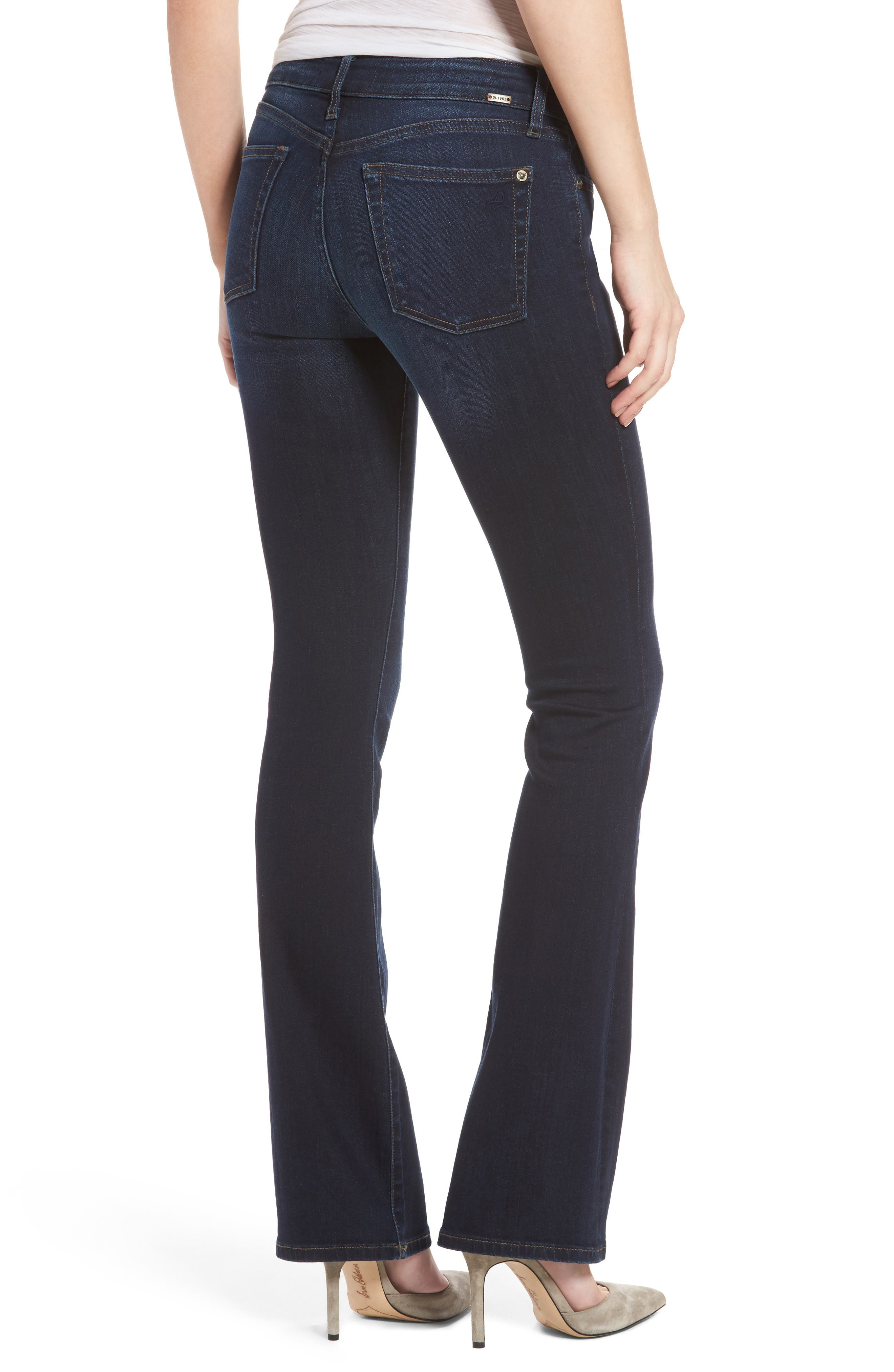 Alternate Image 2  - DL1961 Bridget Bootcut Jeans (Peak)