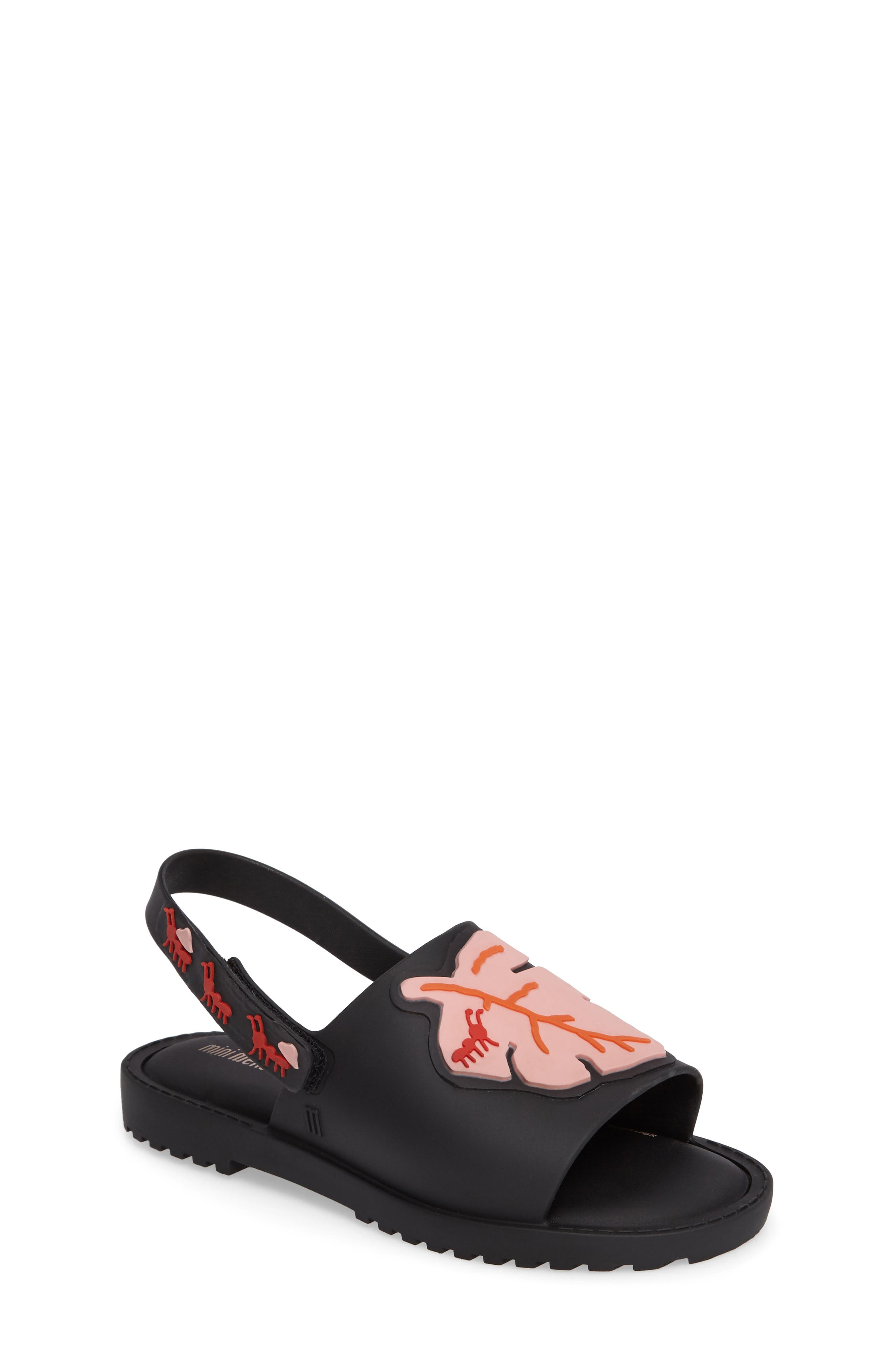 Mini Melissa Mia Fabula Sandal (Walker & Toddler)