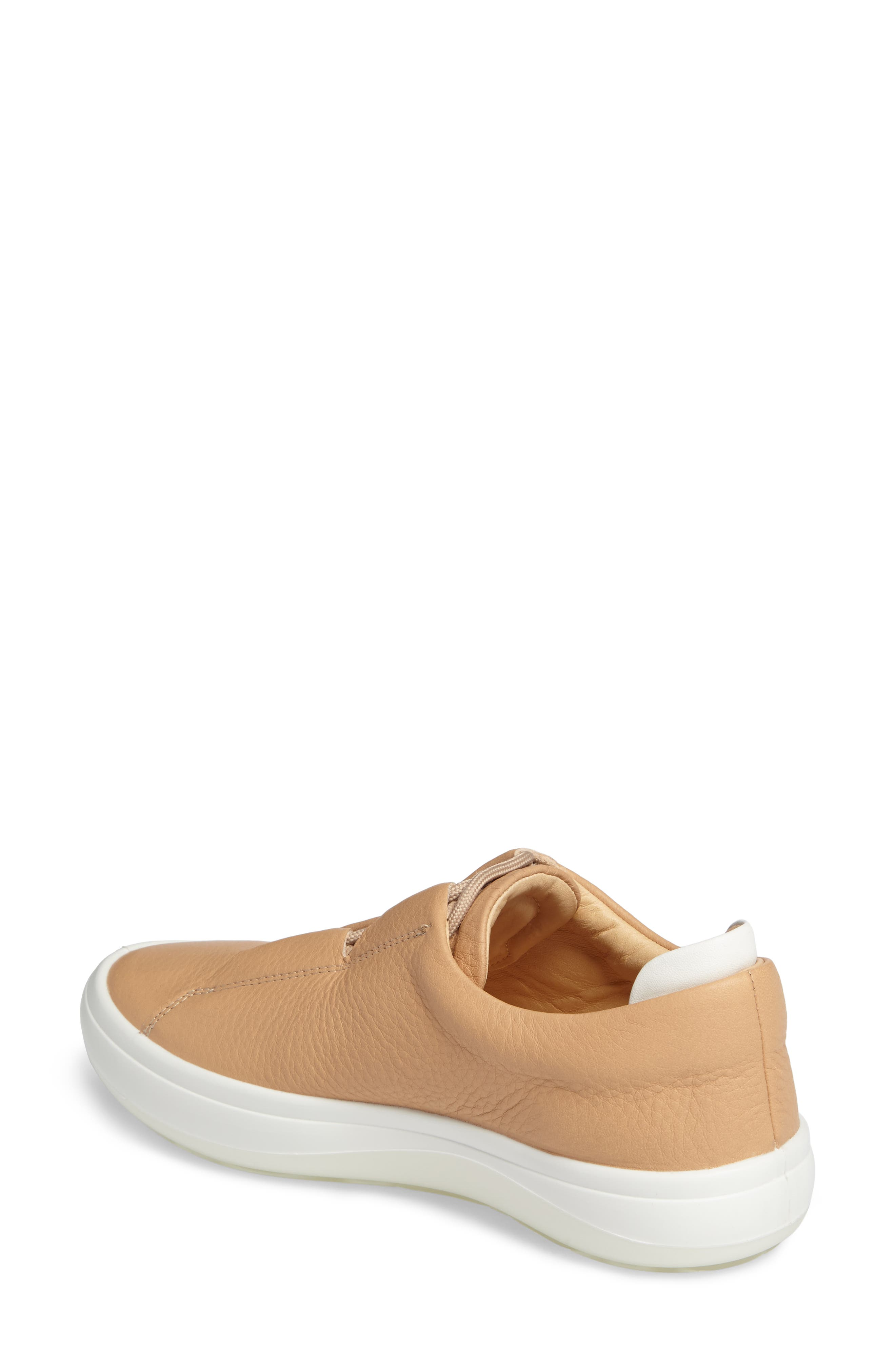 Kinhin Low Top Sneaker,                             Alternate thumbnail 2, color,                             Volluto Leather