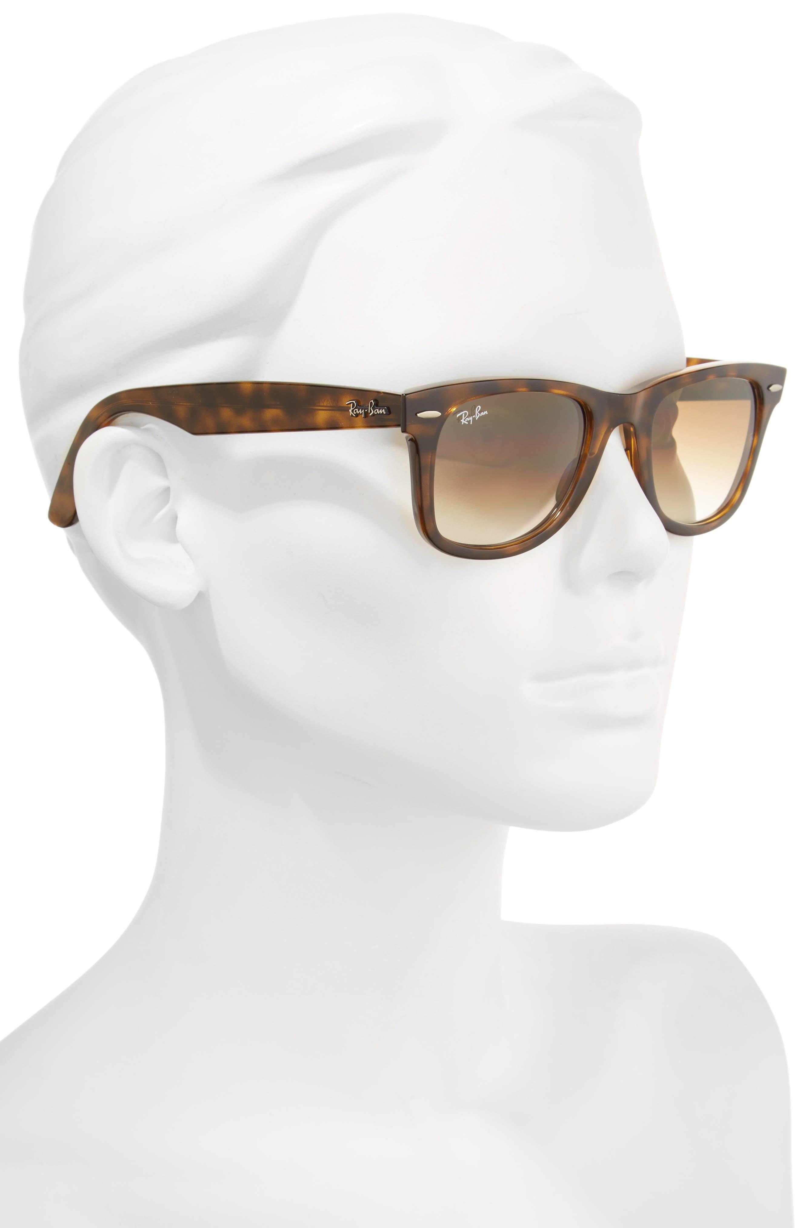 Alternate Image 2  - Ray-Ban 50mm Wayfarer Ease Gradient Sunglasses