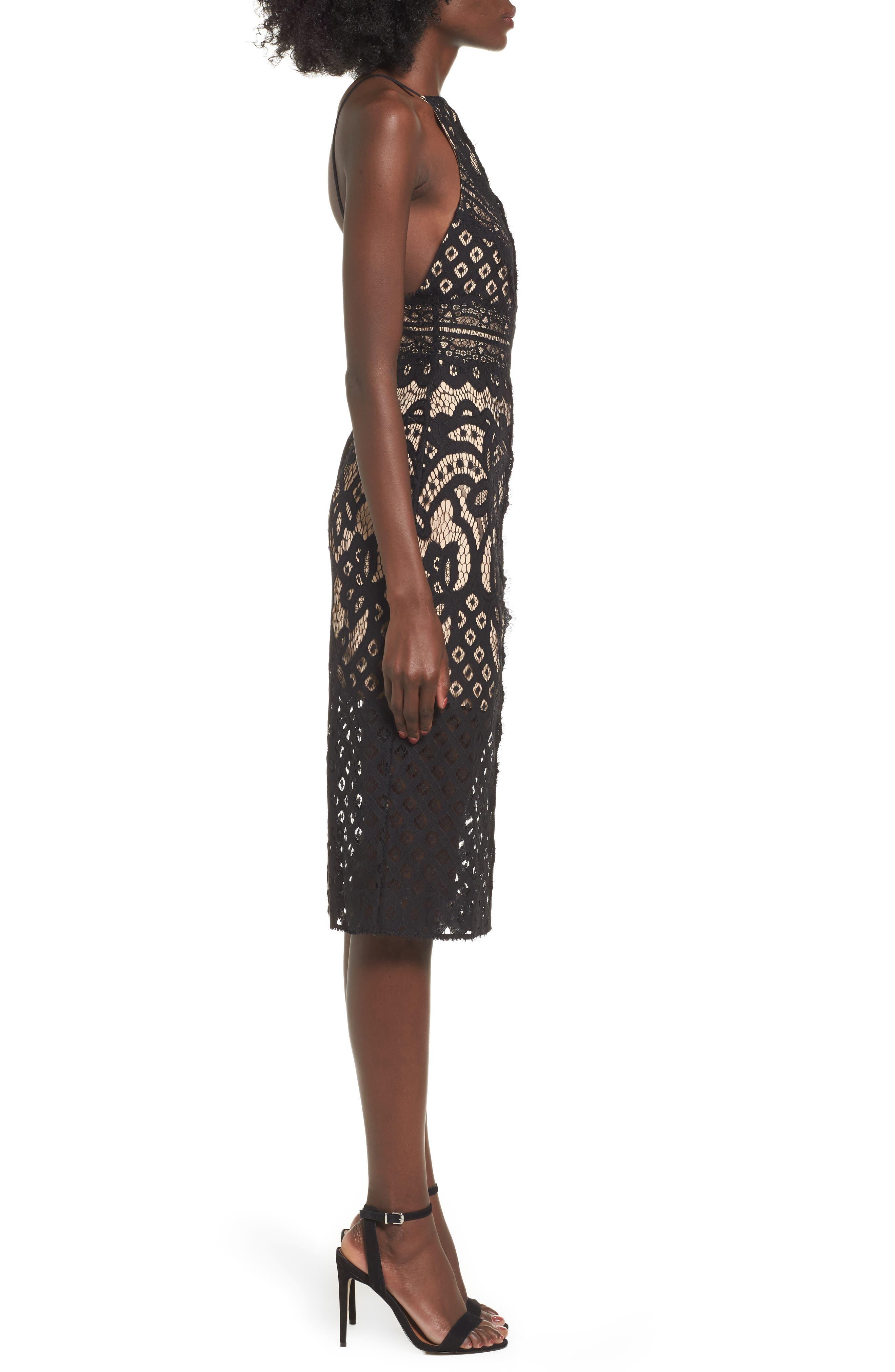 Alternate Image 4  - Keepsake the Label Bridges Lace Midi Dress