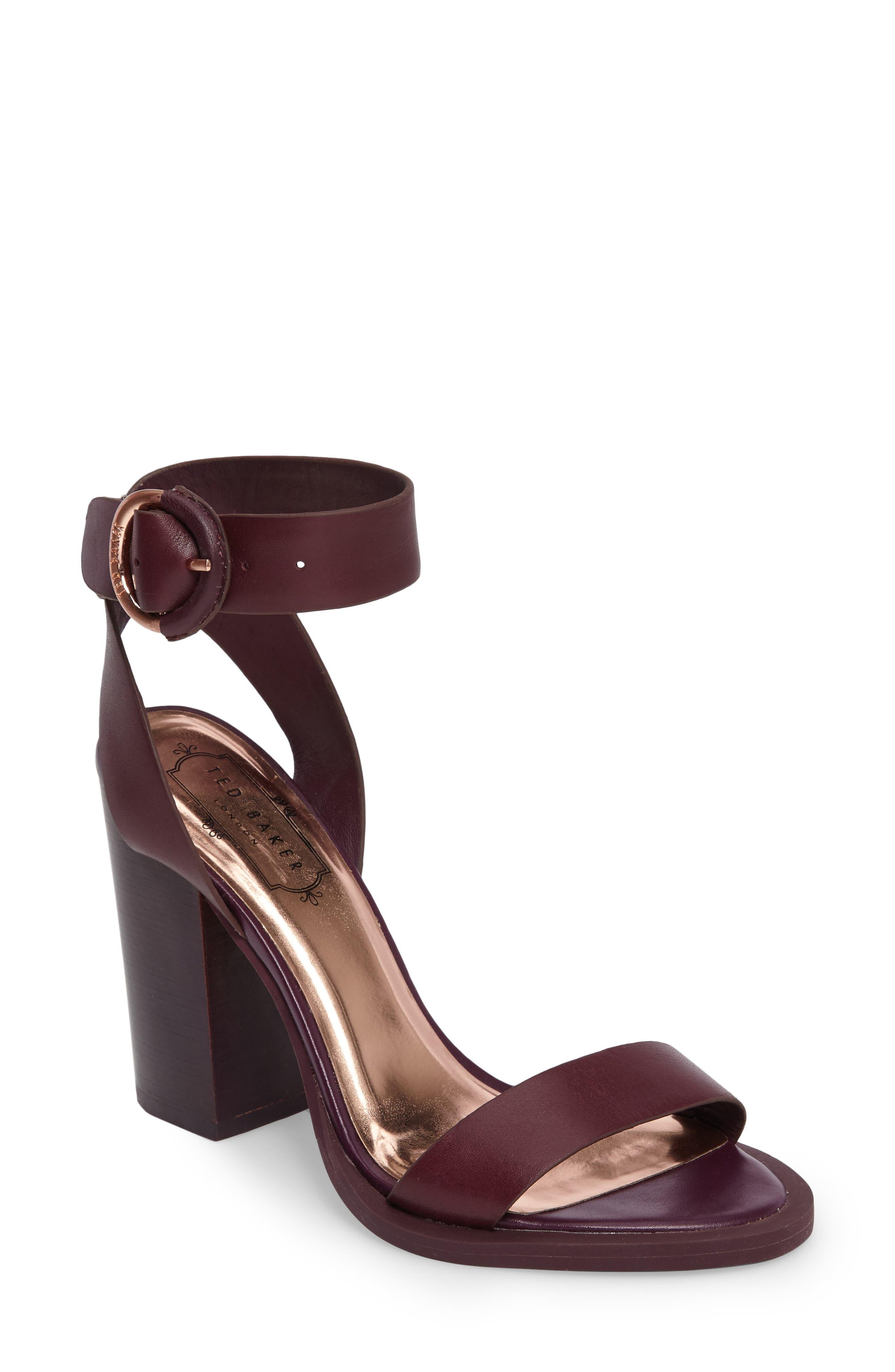 Ted Baker London Betciy Ankle Strap Sandal (Women)