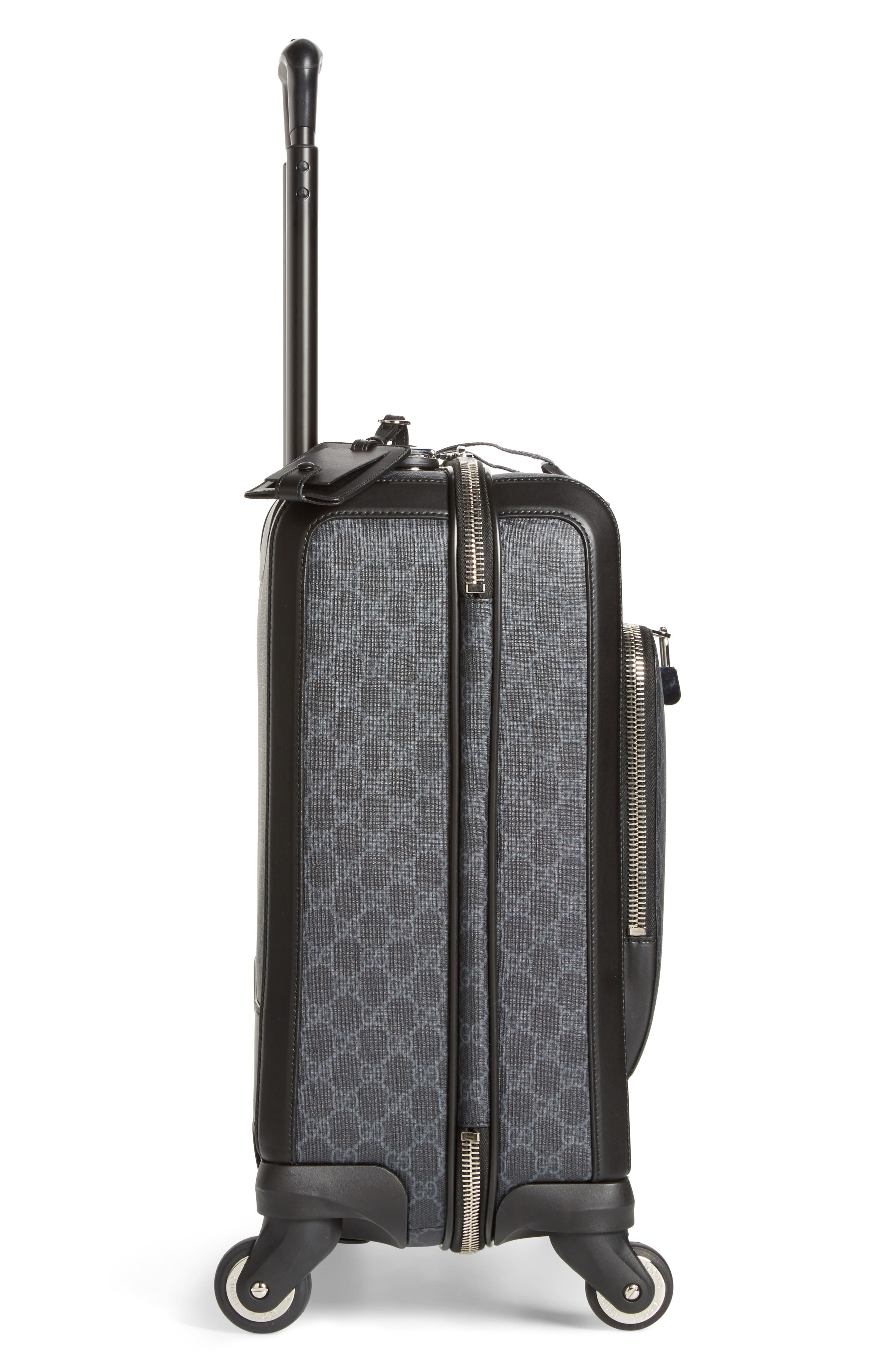 Gran Turismo Carry-On,                             Alternate thumbnail 4, color,                             Black