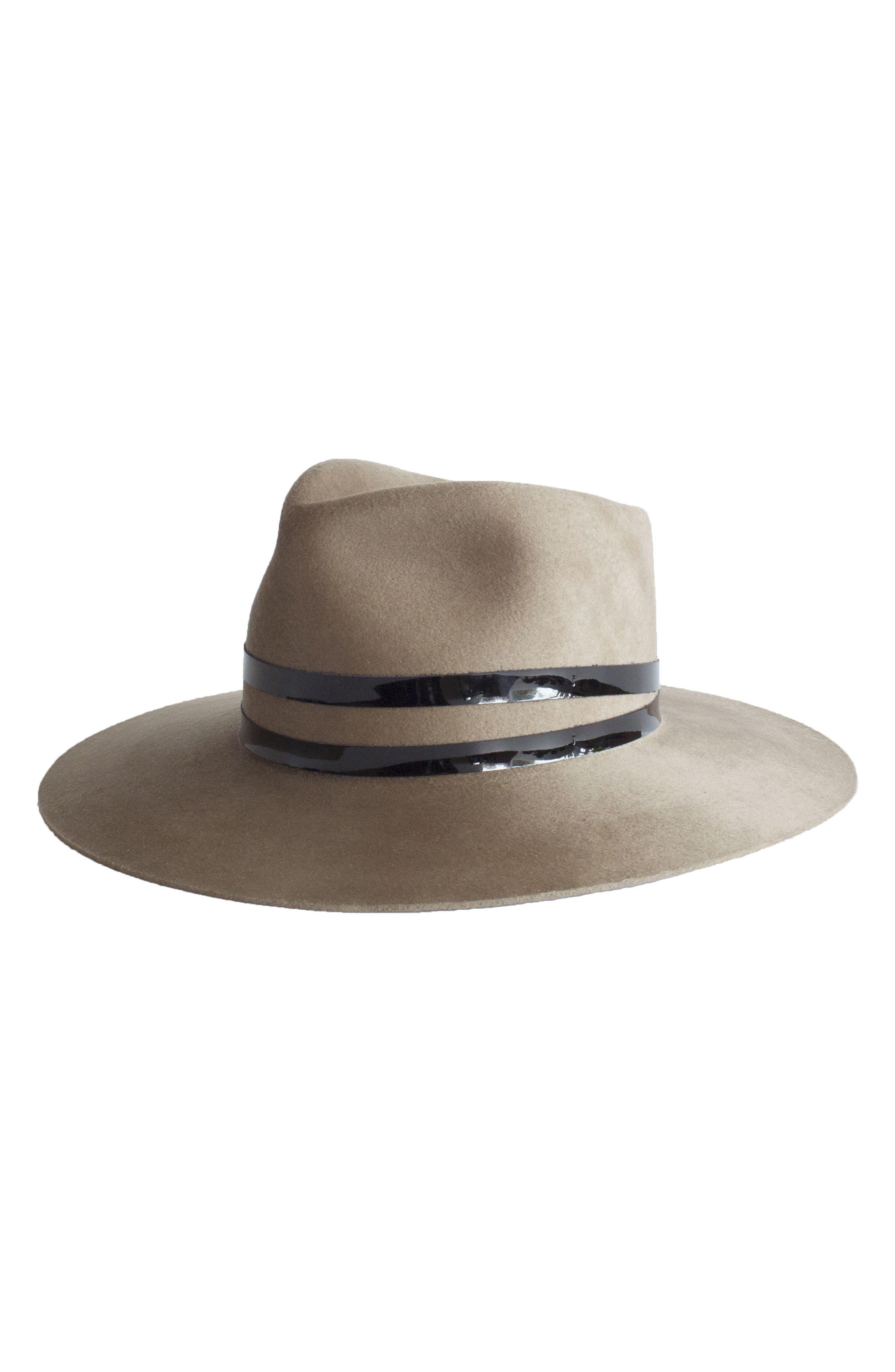 Janessa Leone Addison Wool Hat