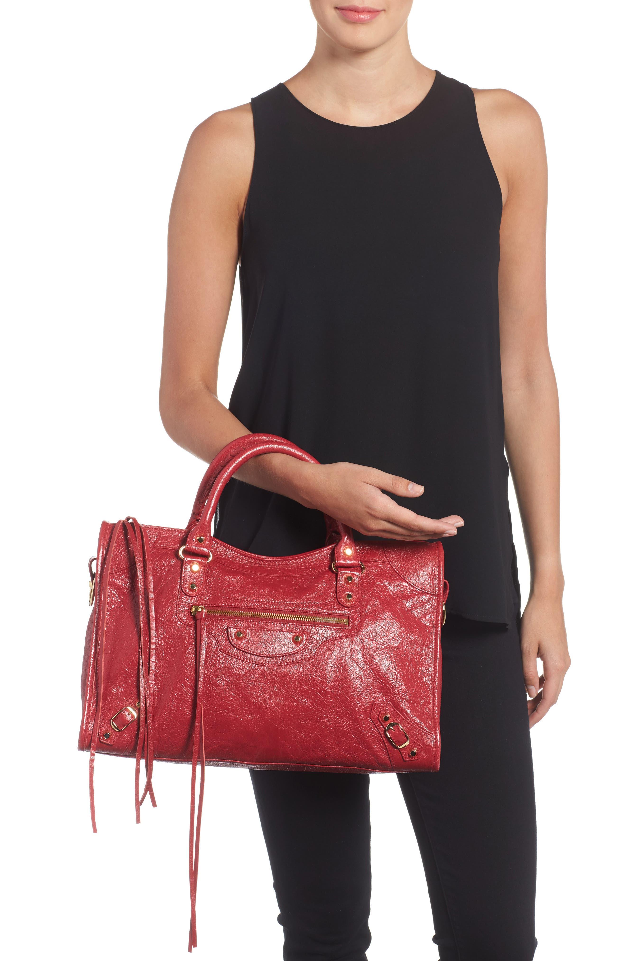 Classic City Bag,                             Alternate thumbnail 2, color,                             6270 Rouge Saffron/Dk Sang
