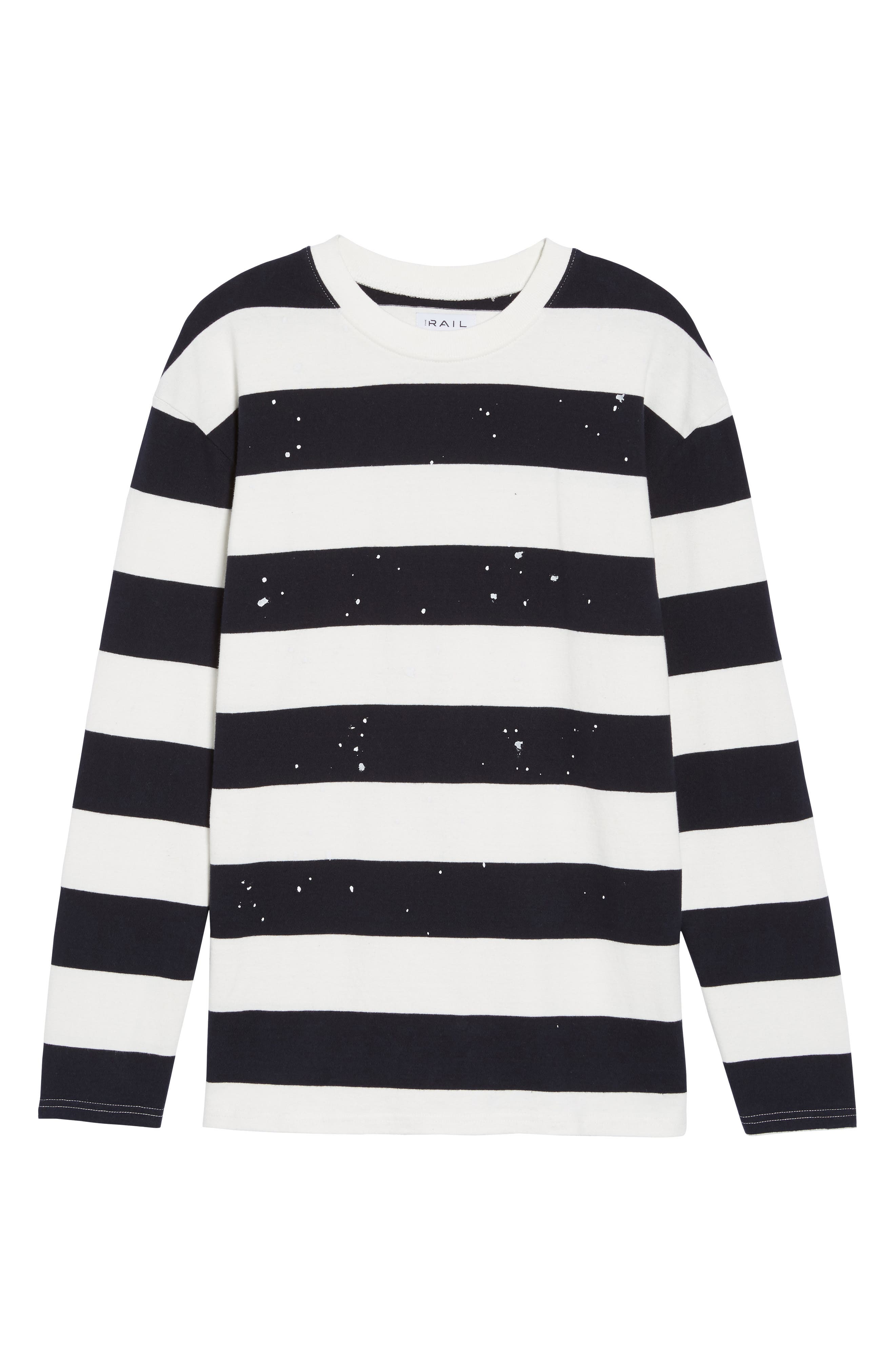 Alternate Image 6  - The Rail Paint Splatter Sweatshirt