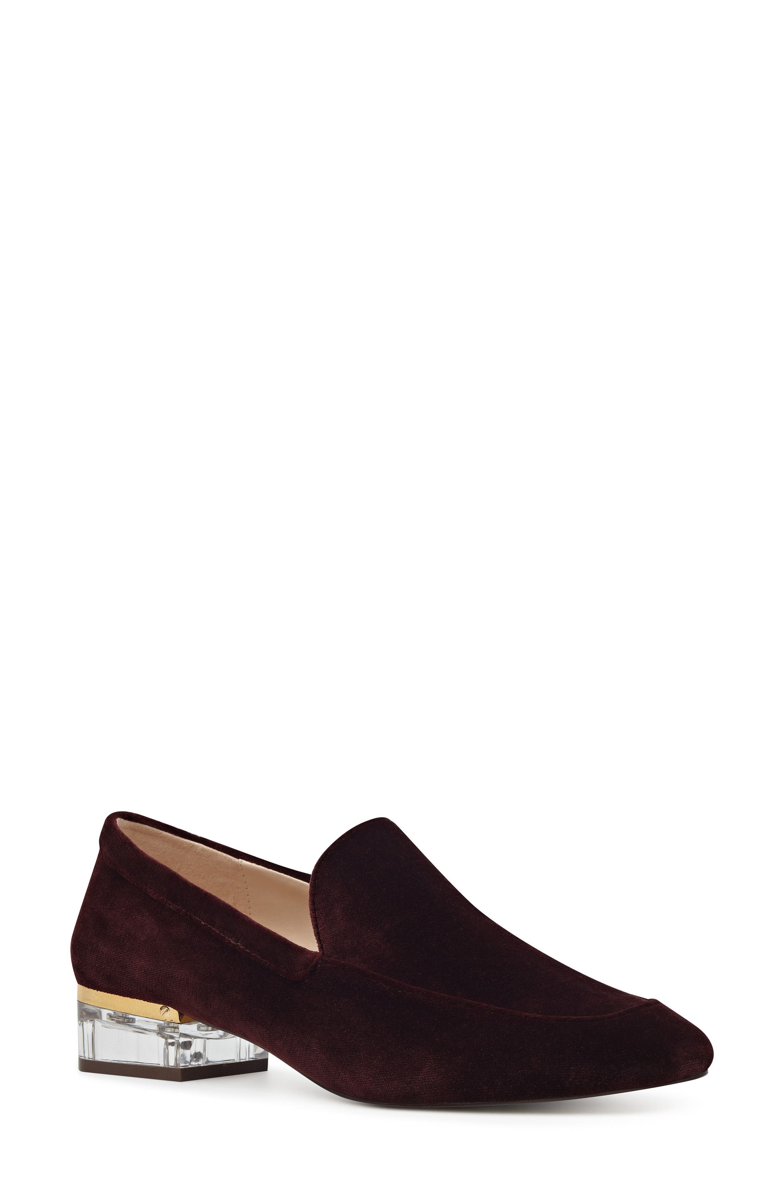 Nine West Umissit Clear Heel Loafer (Women)