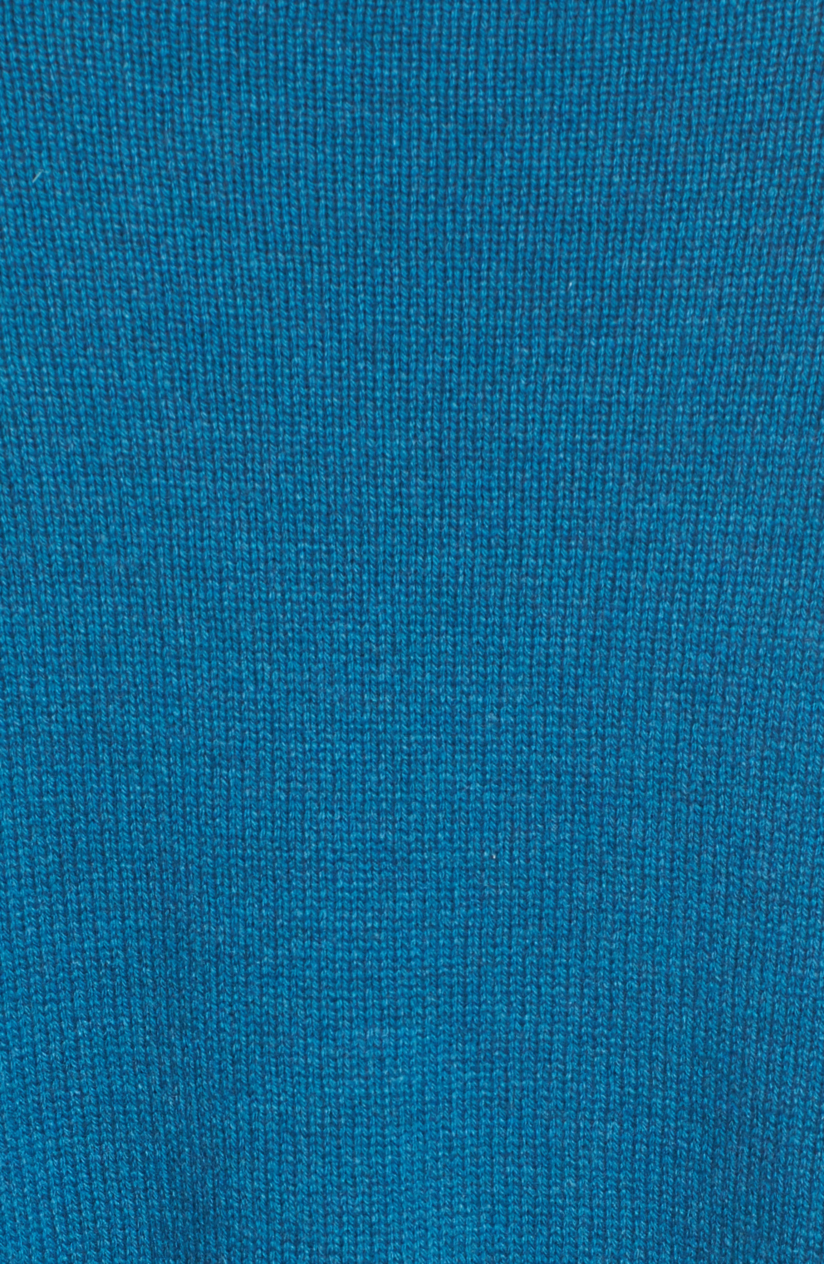 Cashmere & Wool Blend Oversize Sweater,                             Alternate thumbnail 3, color,                             Nile