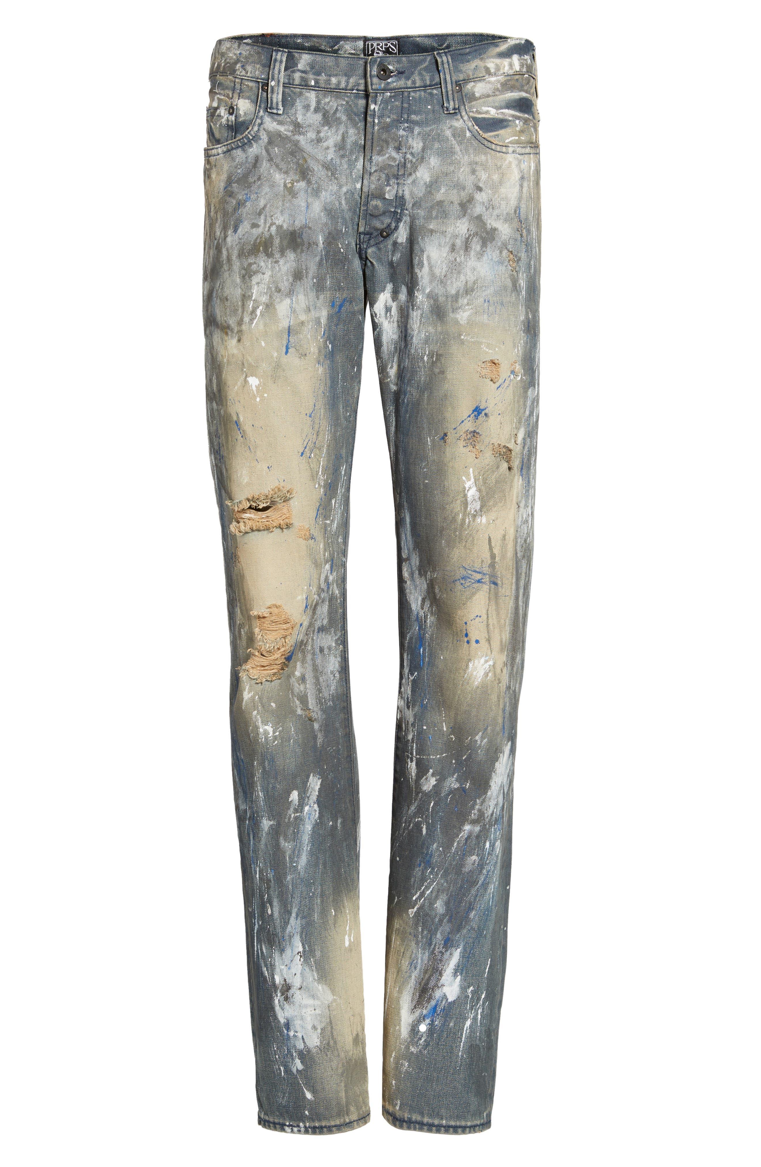 Alternate Image 6  - PRPS Barracuda Straight Leg Jeans