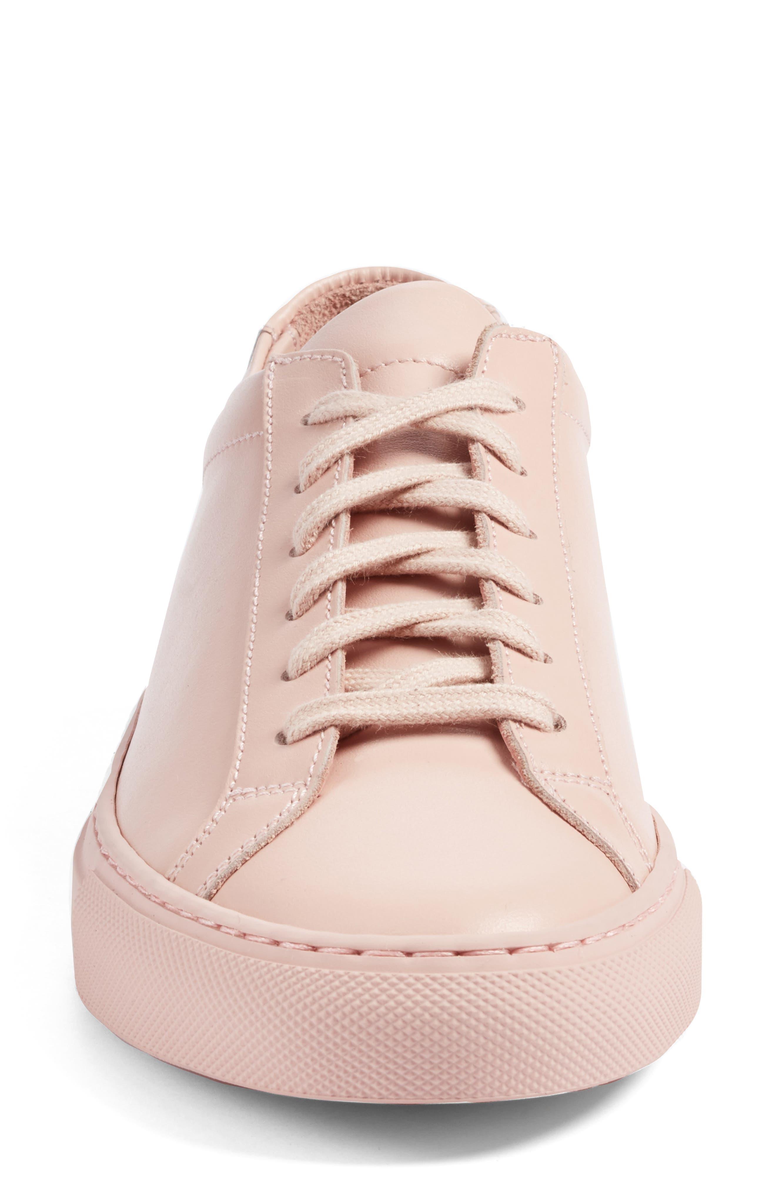 Original Achilles Sneaker,                             Alternate thumbnail 4, color,                             Blush Leather