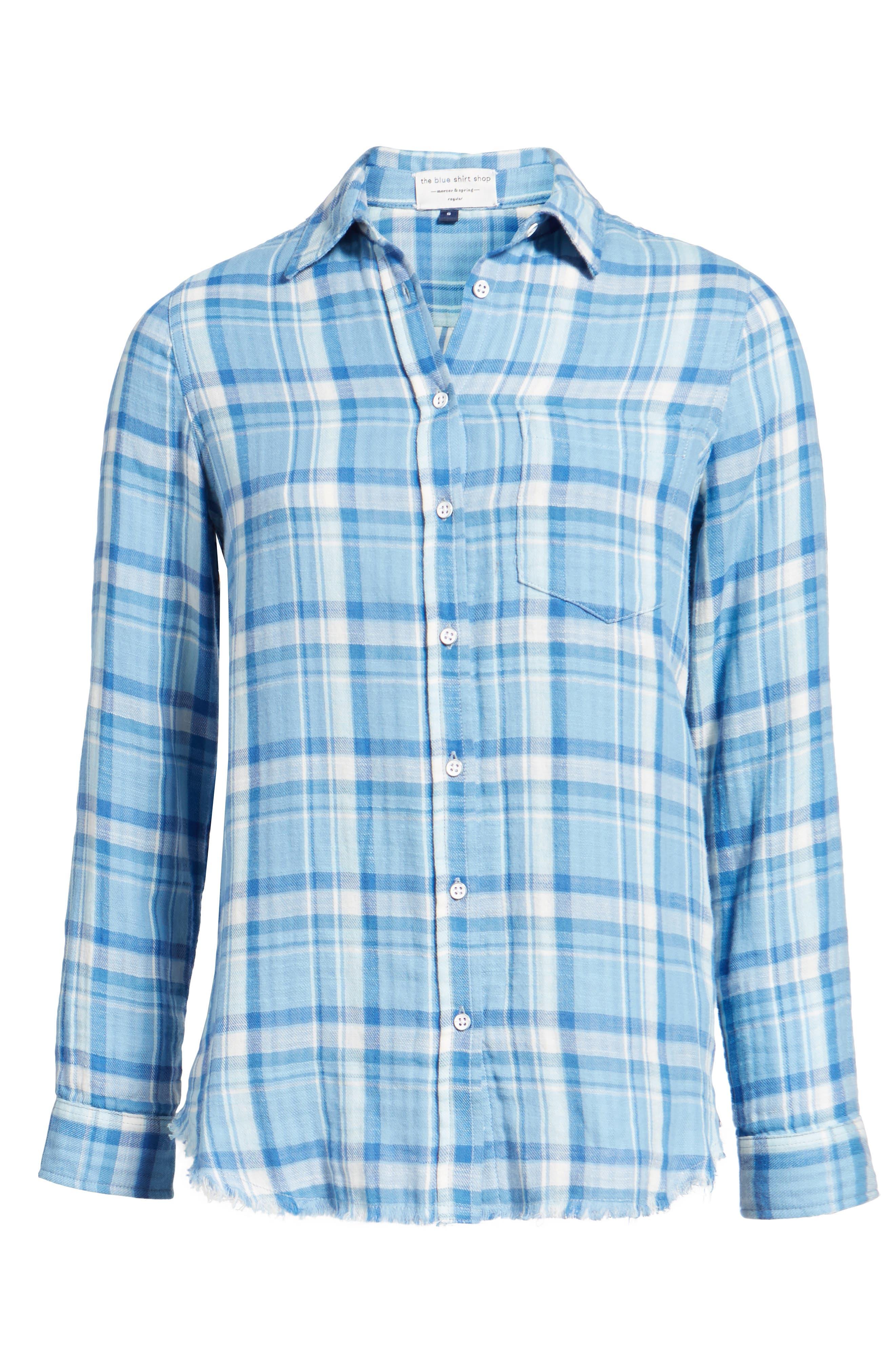 Alternate Image 6  - DL1961 Mercer & Spring Frayed Shirt