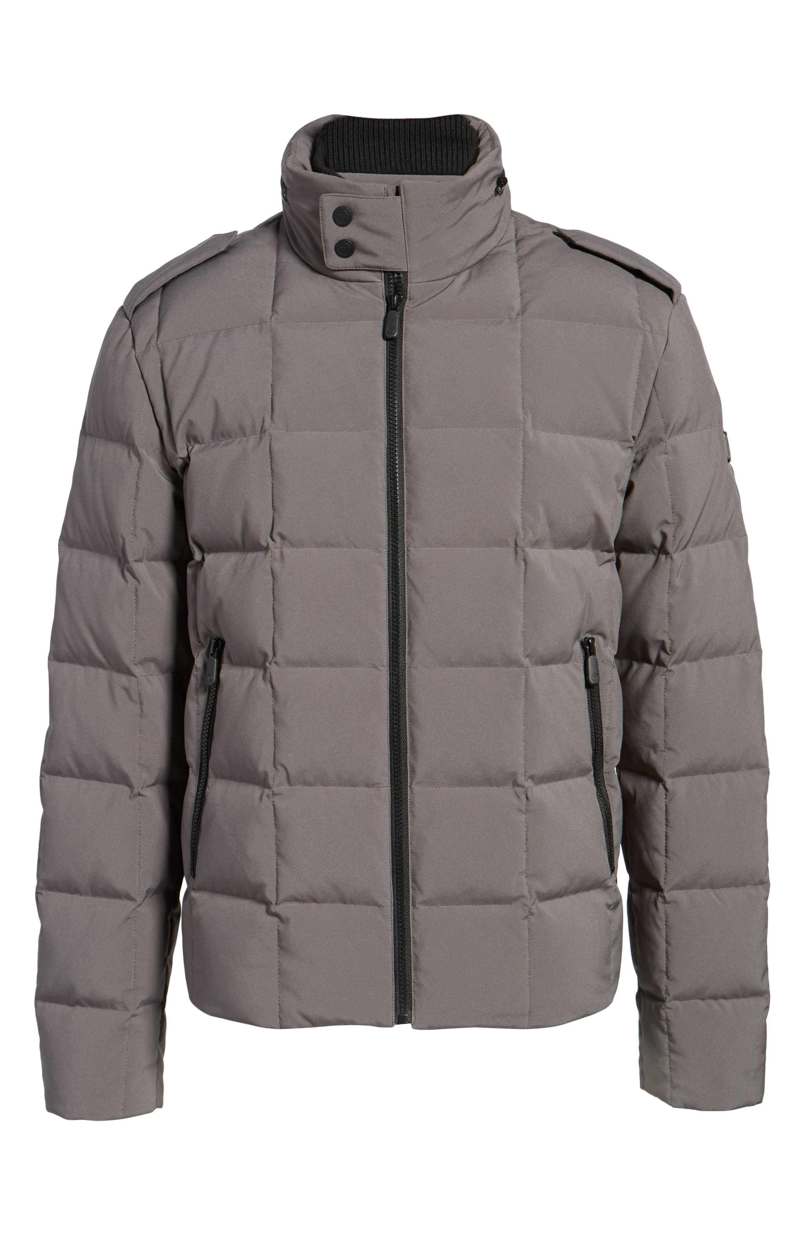 Alternate Image 5  - Tumi Box Quilted Jacket