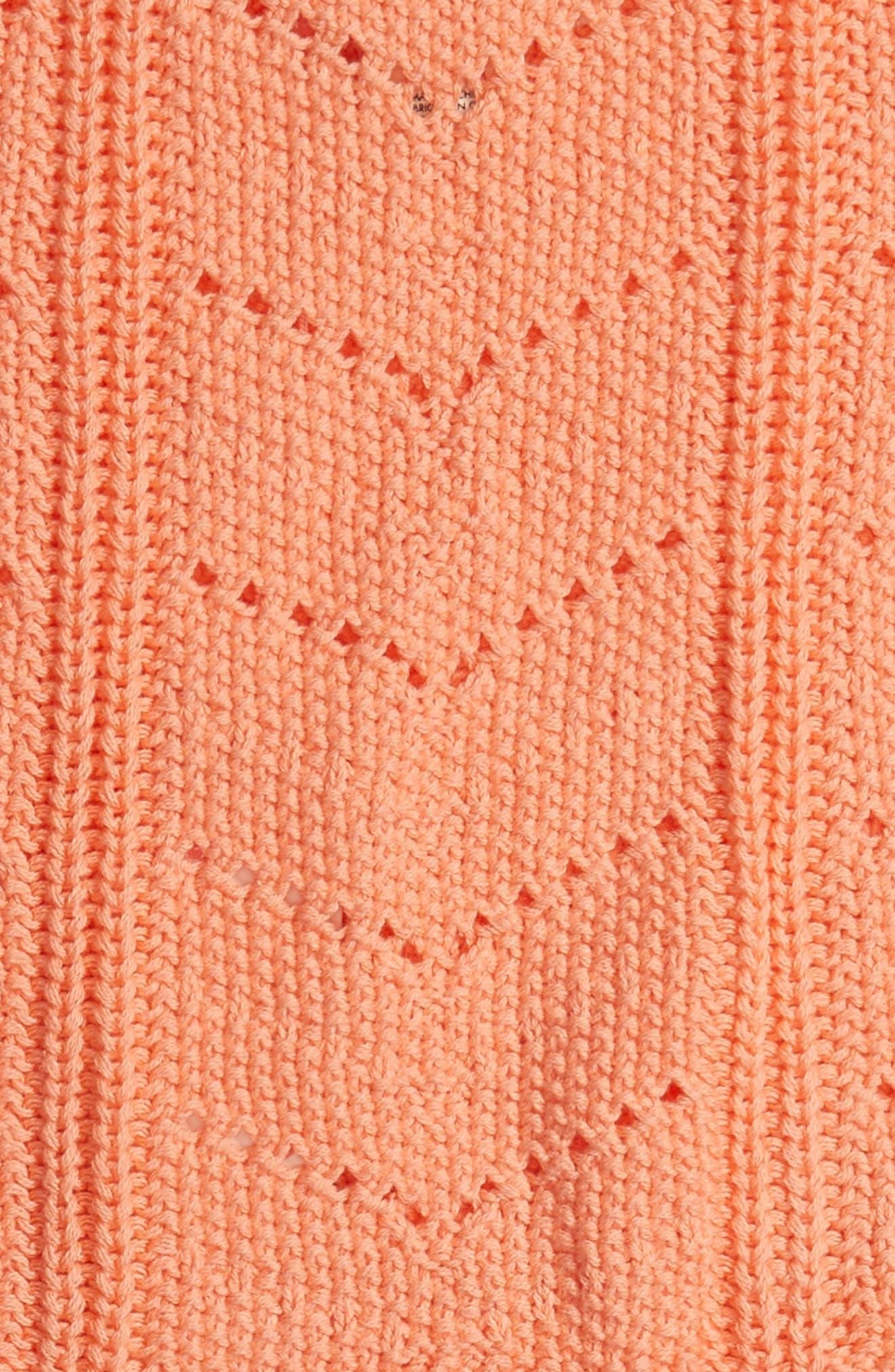 Set Them Free Knit Tassel Tank,                             Alternate thumbnail 2, color,                             Desert Flower