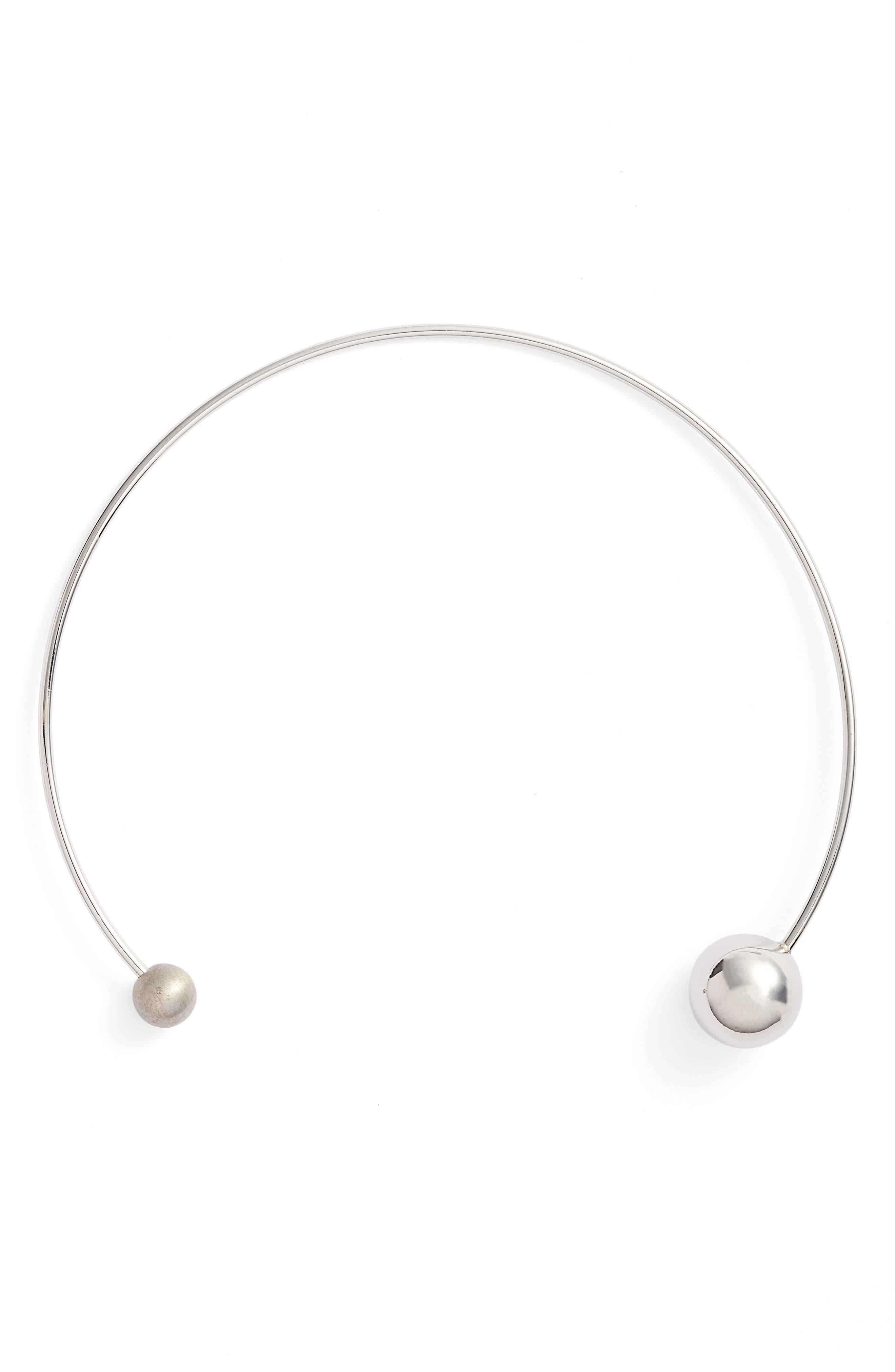 Rebecca Minkoff Sphere Collar Necklace