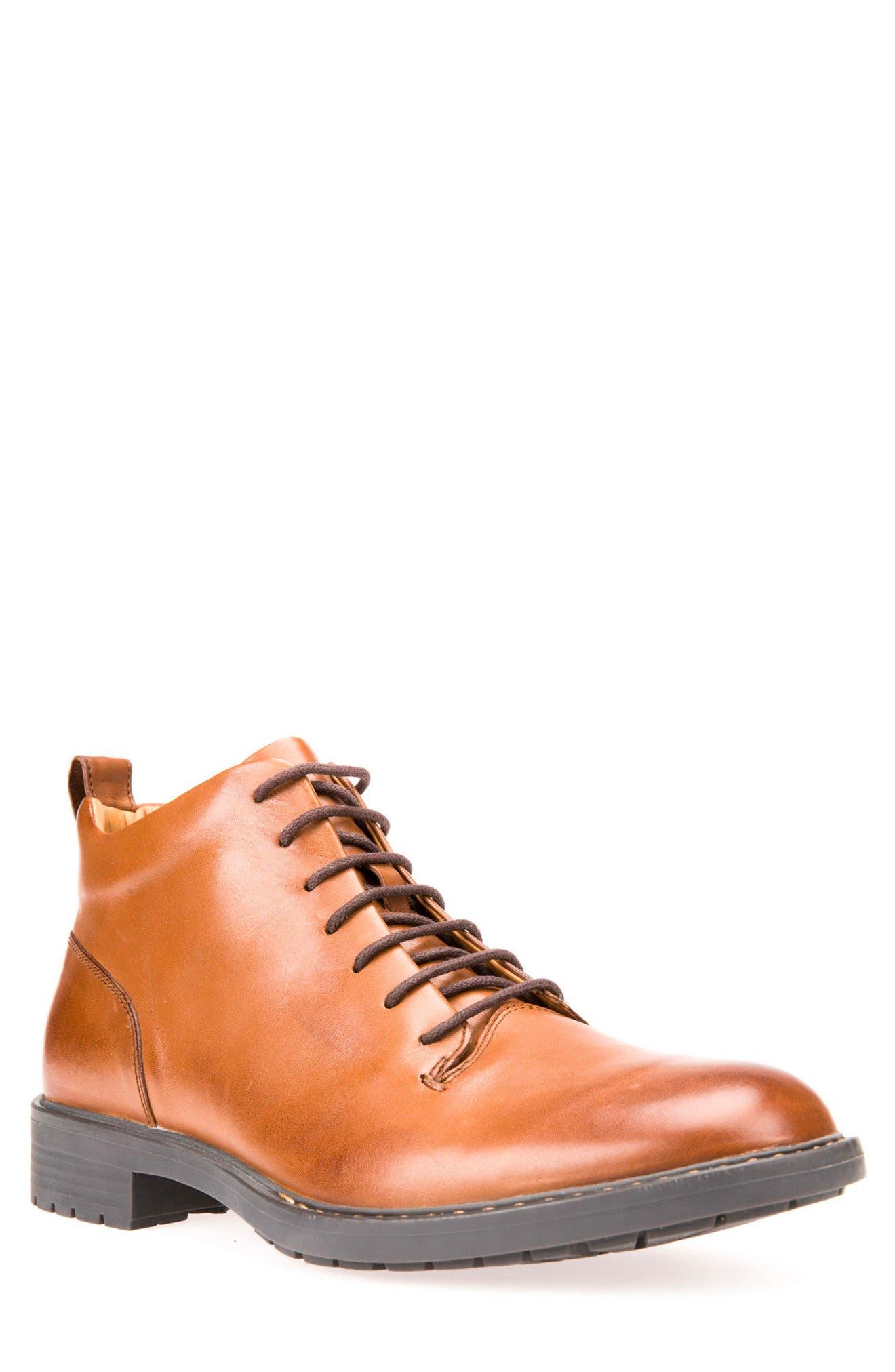 Alternate Image 1 Selected - Geox Kapsian Plain Toe Boot (Men)