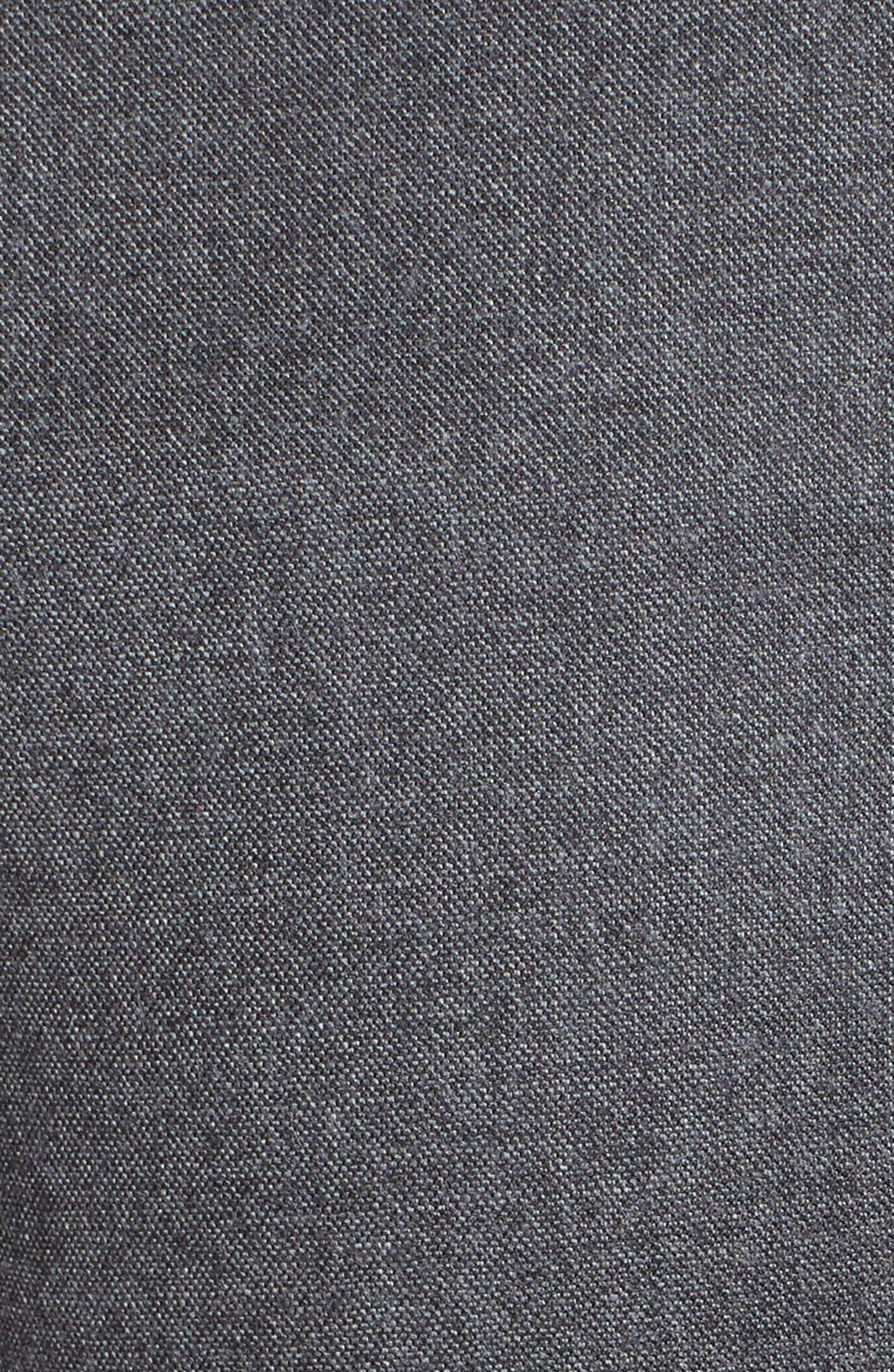 Pedone Wool Pants,                             Alternate thumbnail 7, color,                             Dark Grey