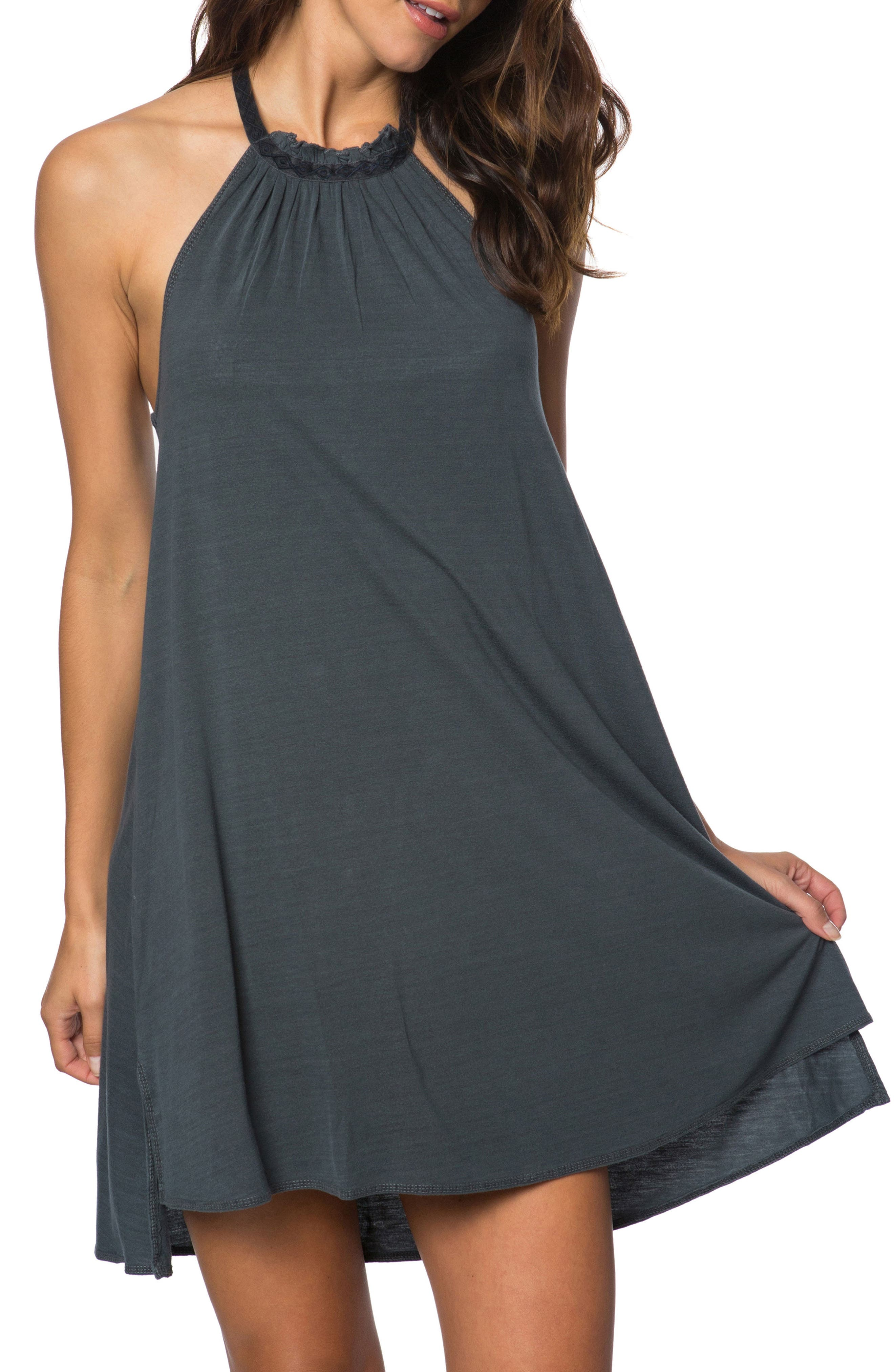 River Cover-Up Dress,                         Main,                         color, Steel