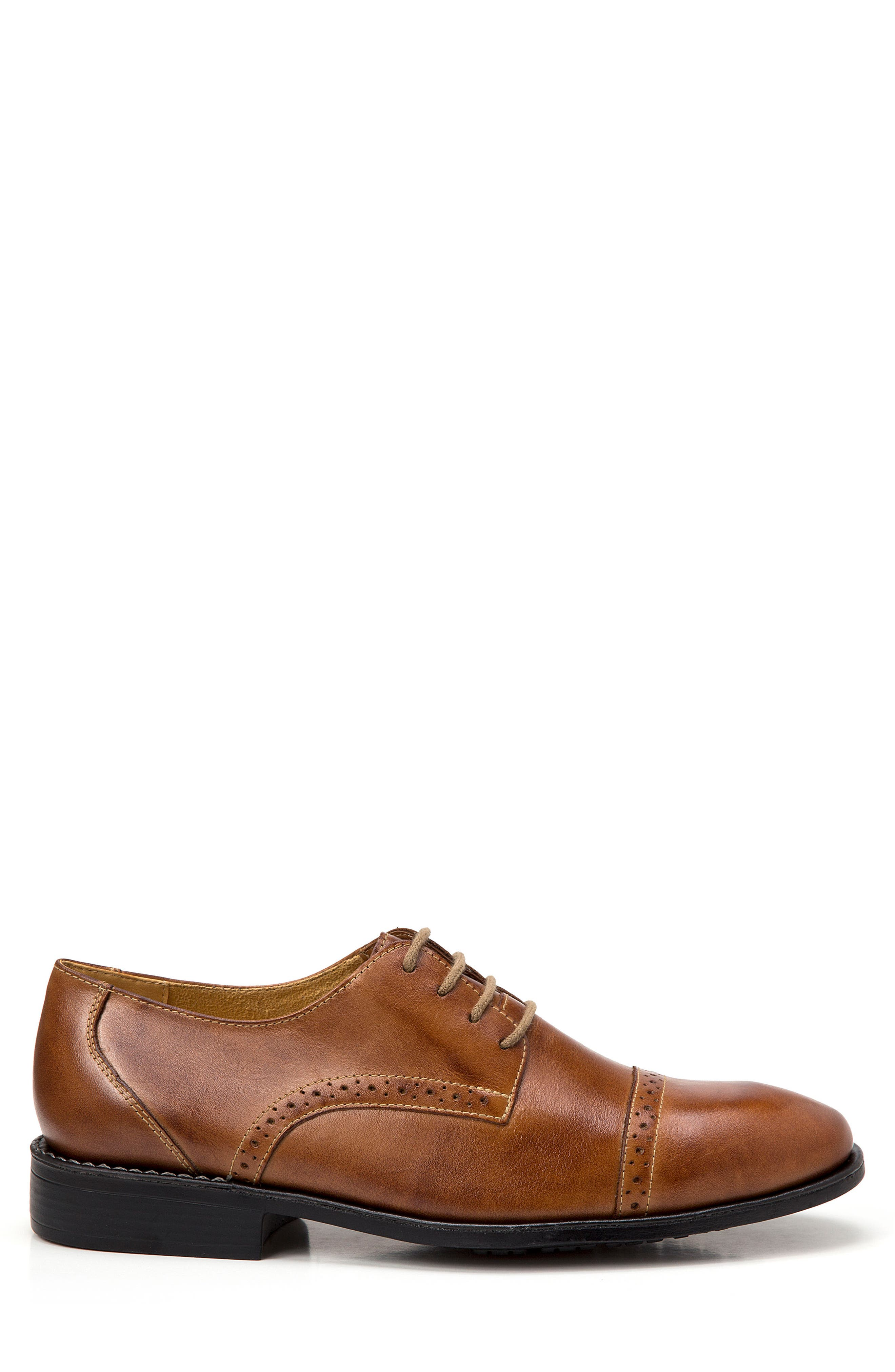Elbert Cap Toe Derby,                             Alternate thumbnail 3, color,                             Tan