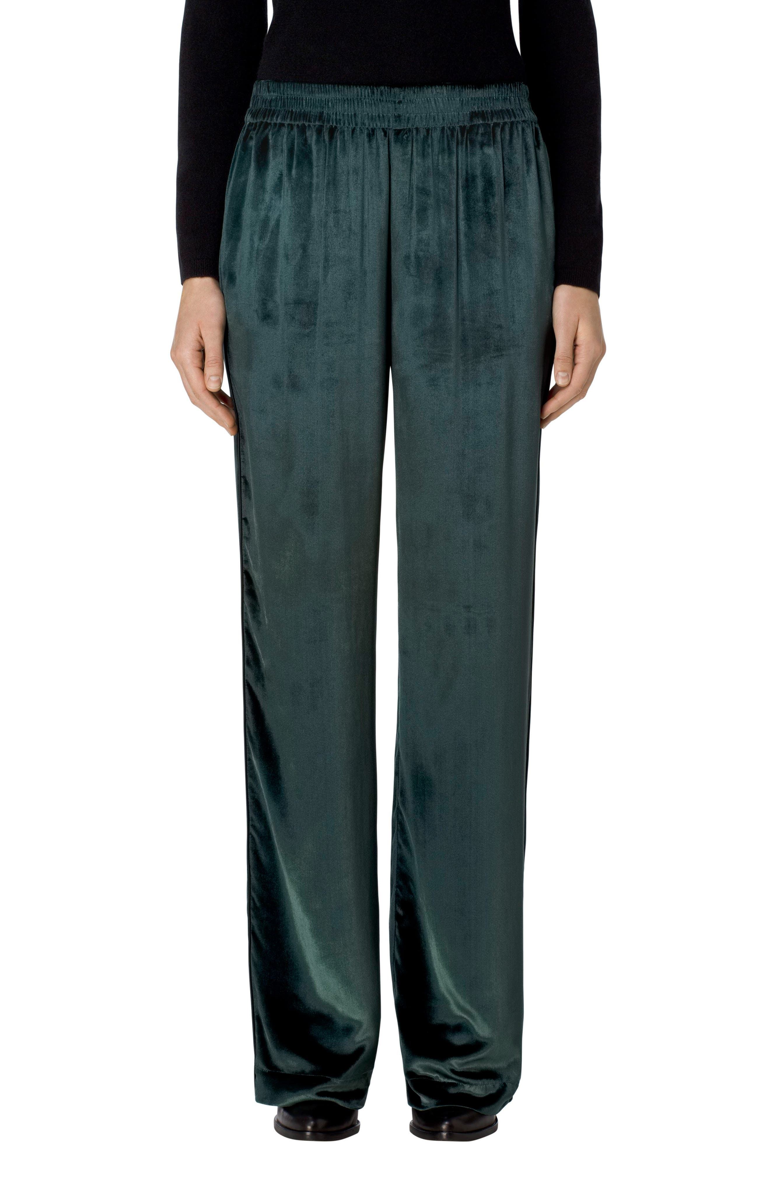 Ardon Velvet Pants,                             Main thumbnail 1, color,                             Moorland
