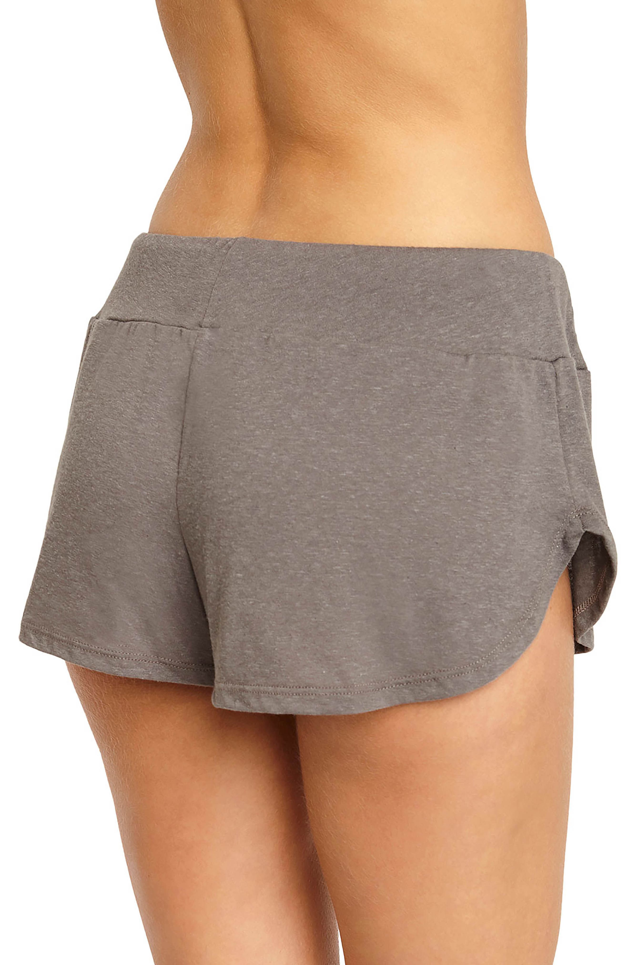 Alternate Image 2  - Eberjey Heather Knit Shorts
