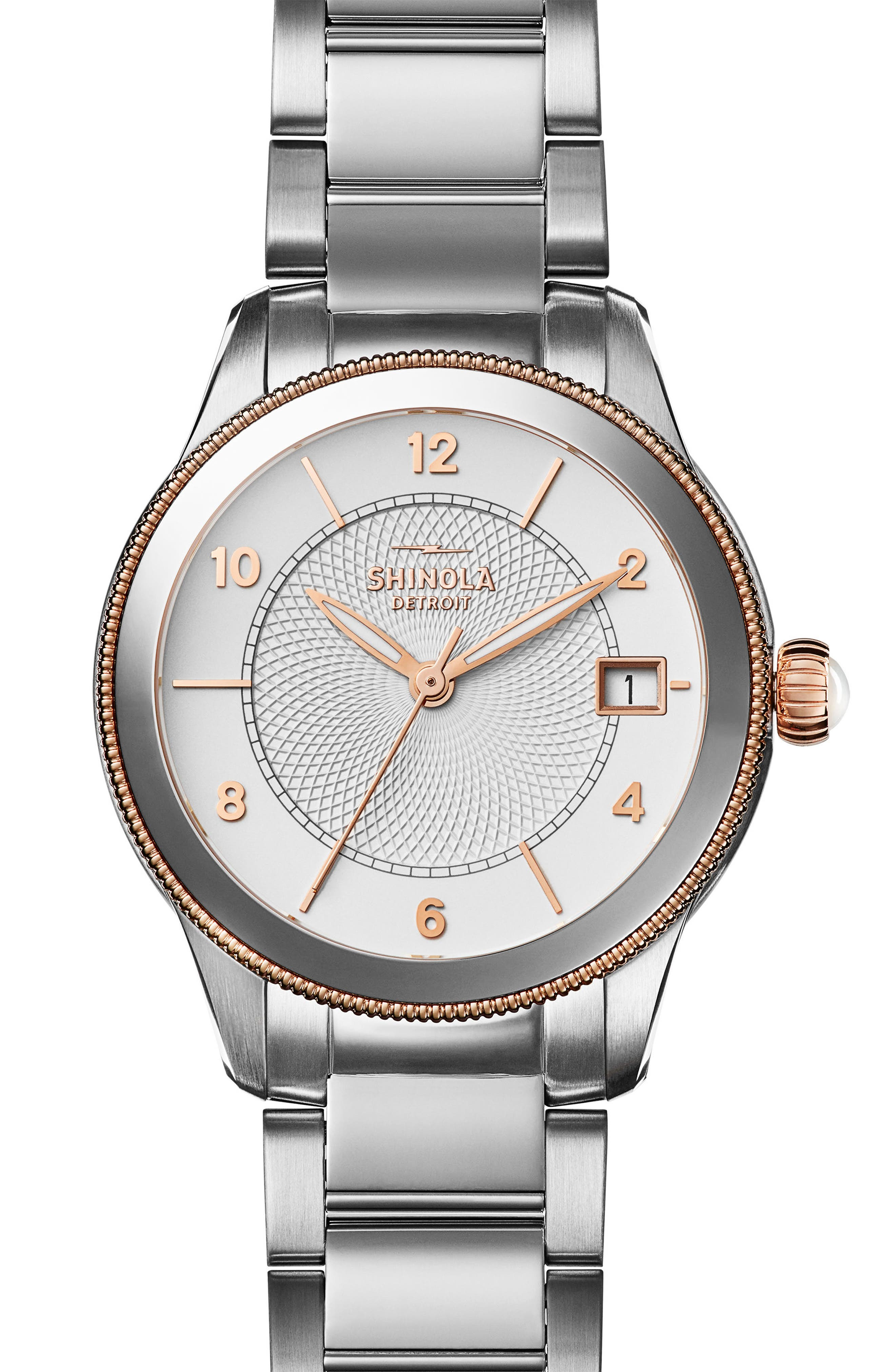SHINOLA Gail Bracelet Watch, 36mm