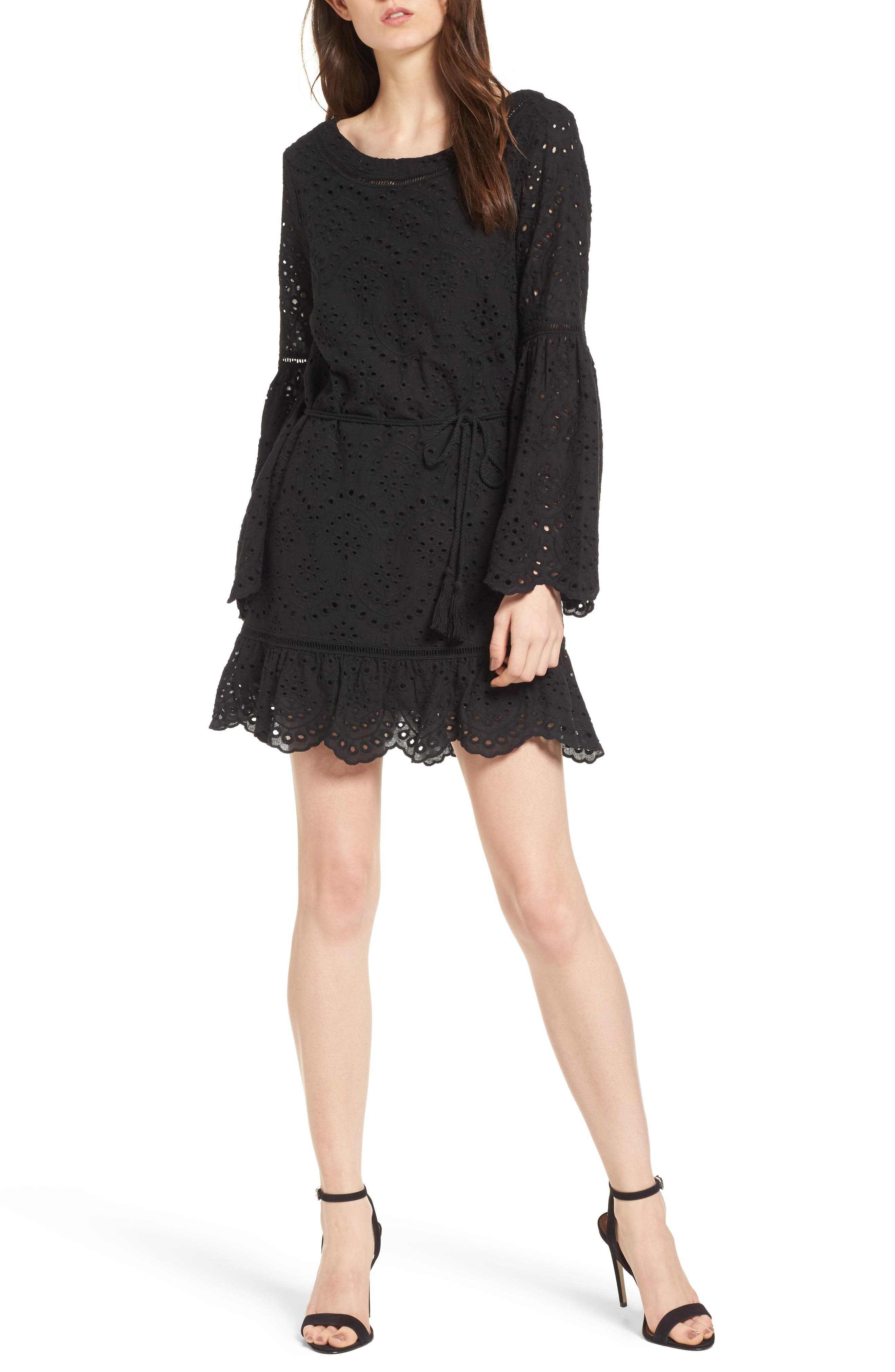 Alternate Image 1 Selected - cupcakes and cashmere Ruben Broderie Dress