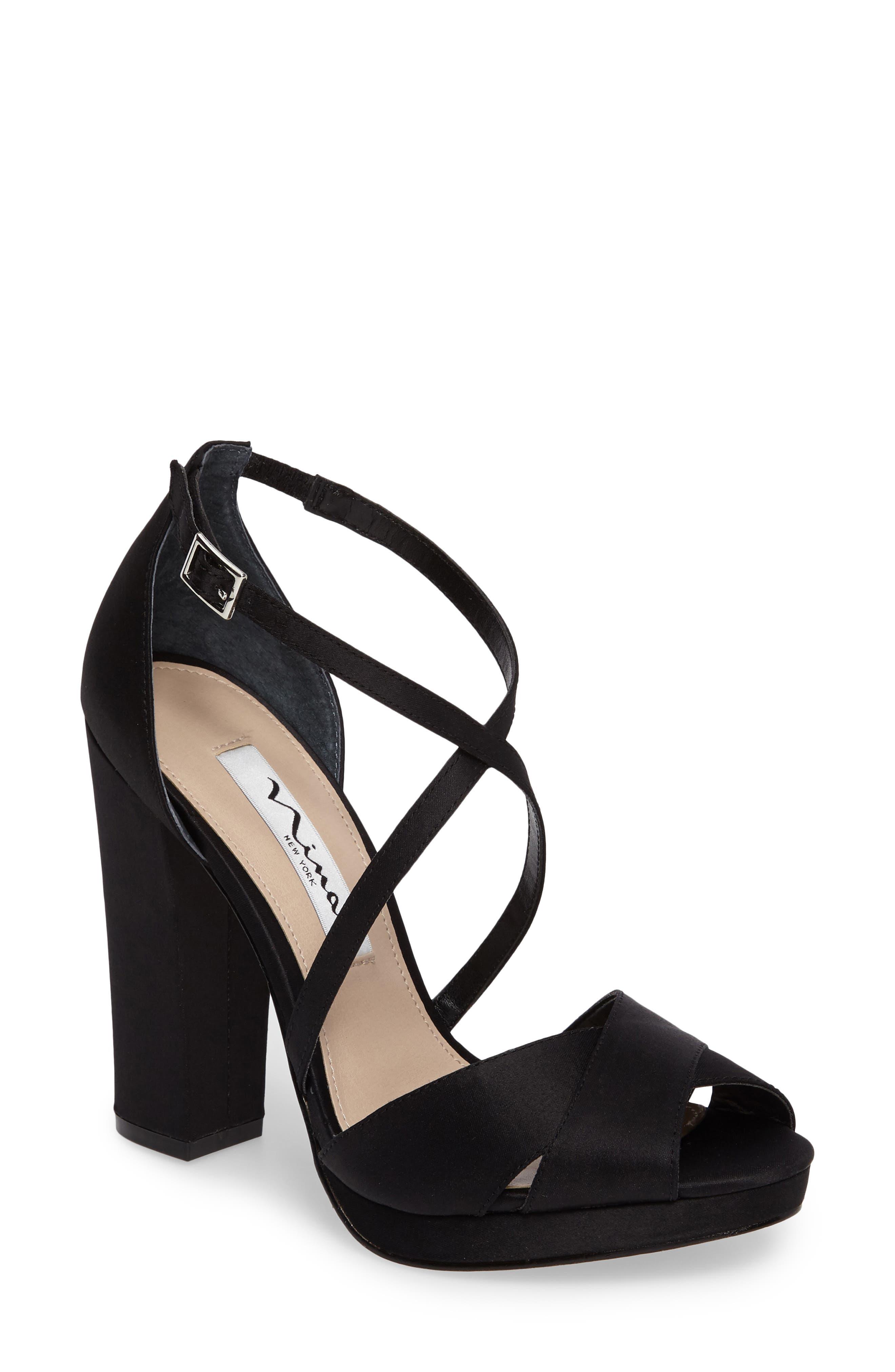 NINA Marylyn Cross Strap Sandal