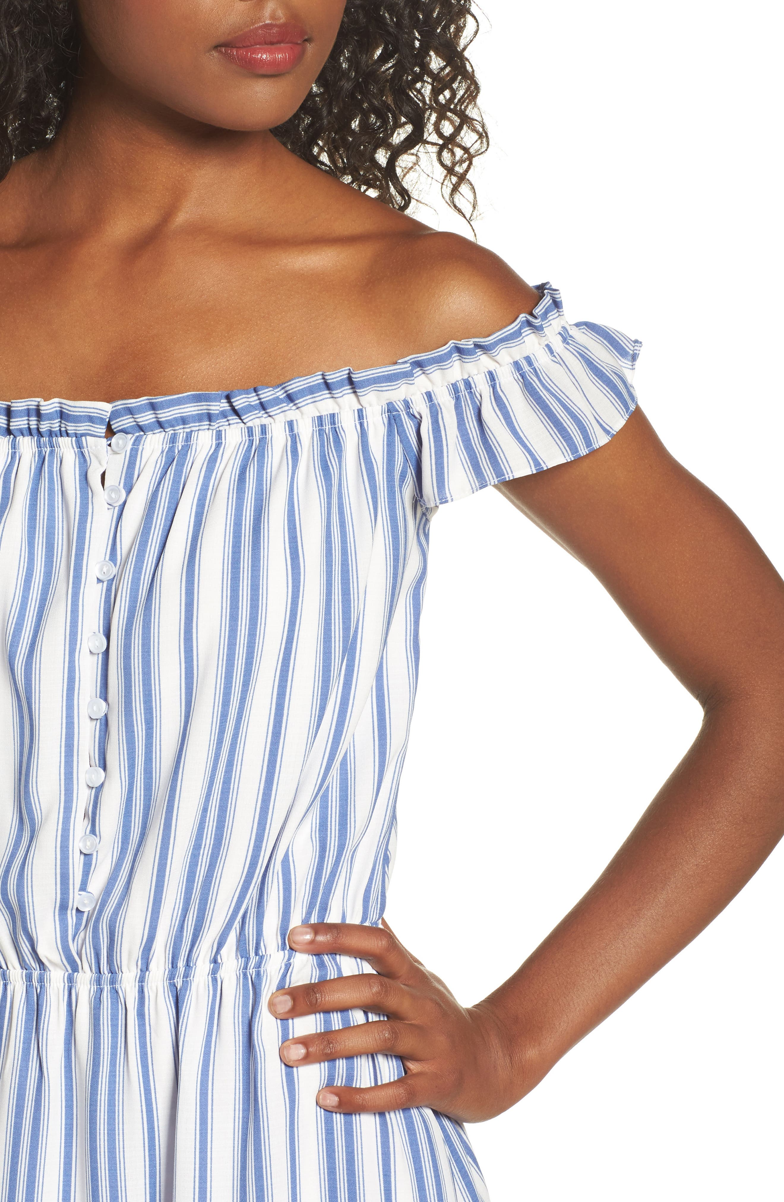 Alternate Image 4  - Fraiche by J Prairie Off the Shoulder Dress