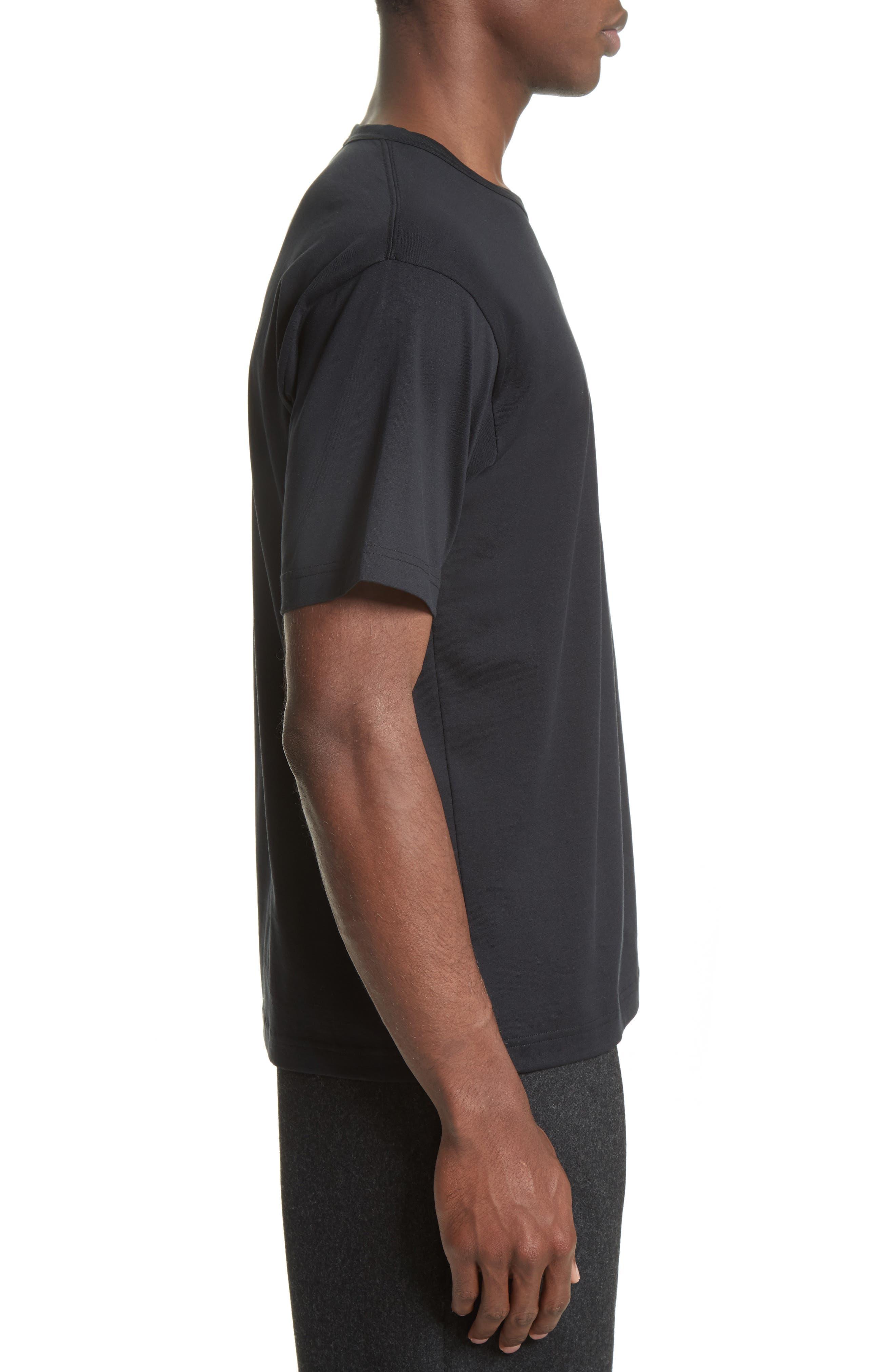 Nash Face T-Shirt,                             Alternate thumbnail 3, color,                             Black