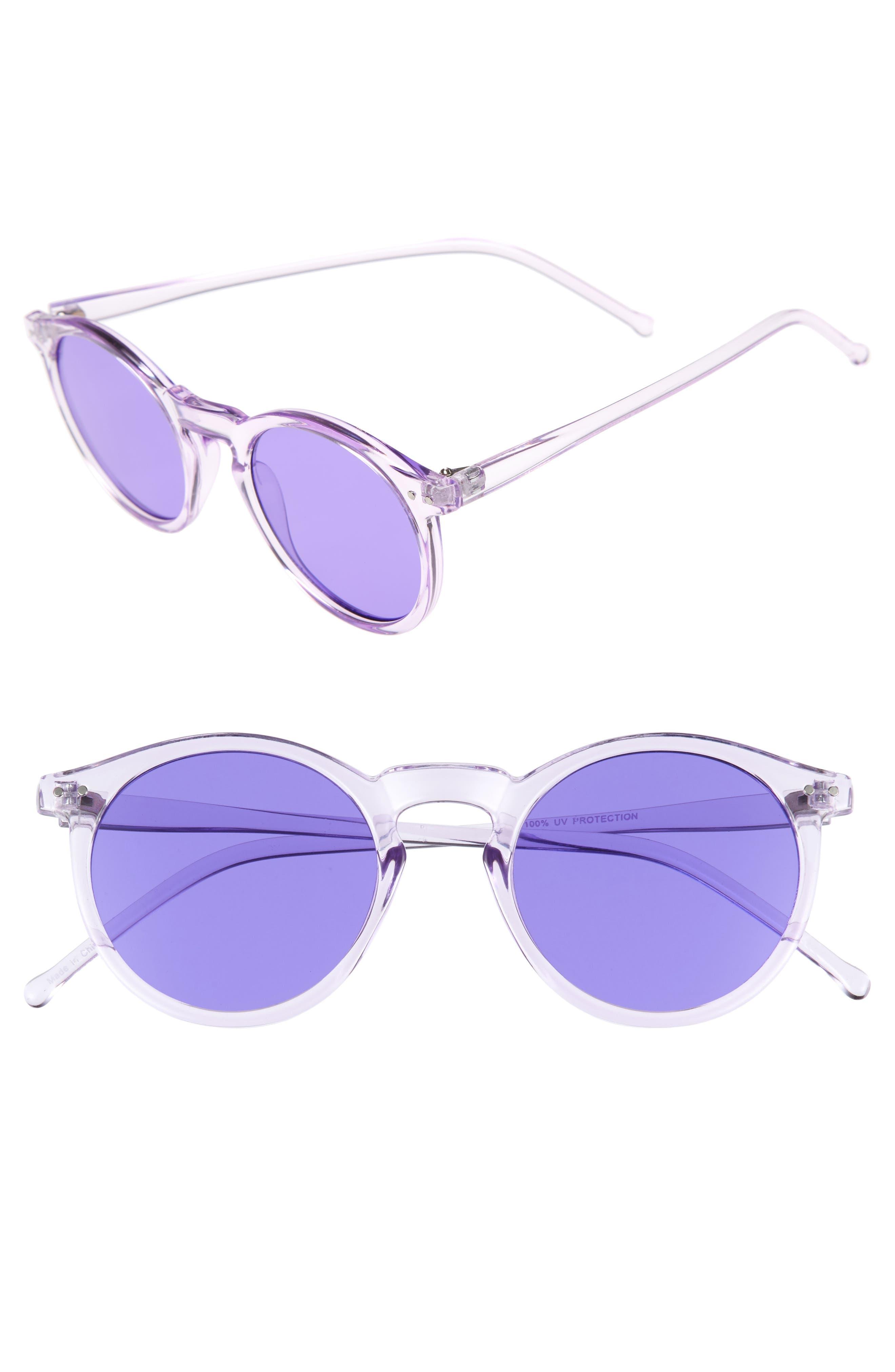 BP. 49mm Round Sunglasses
