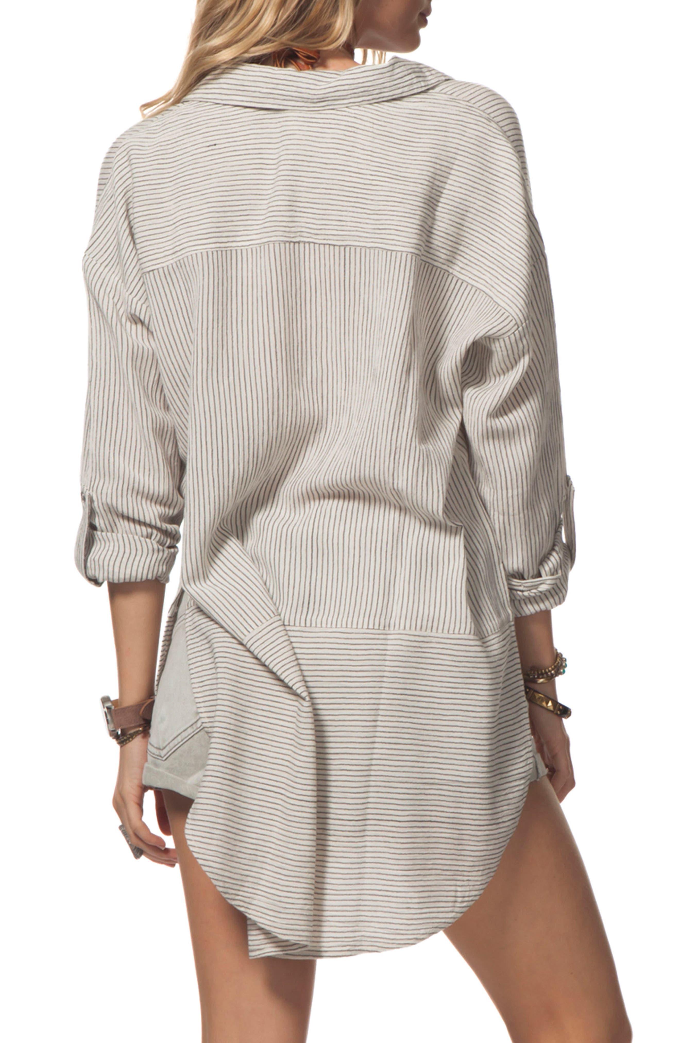Alternate Image 2  - Rip Curl Sandbar Lace-Up Tunic