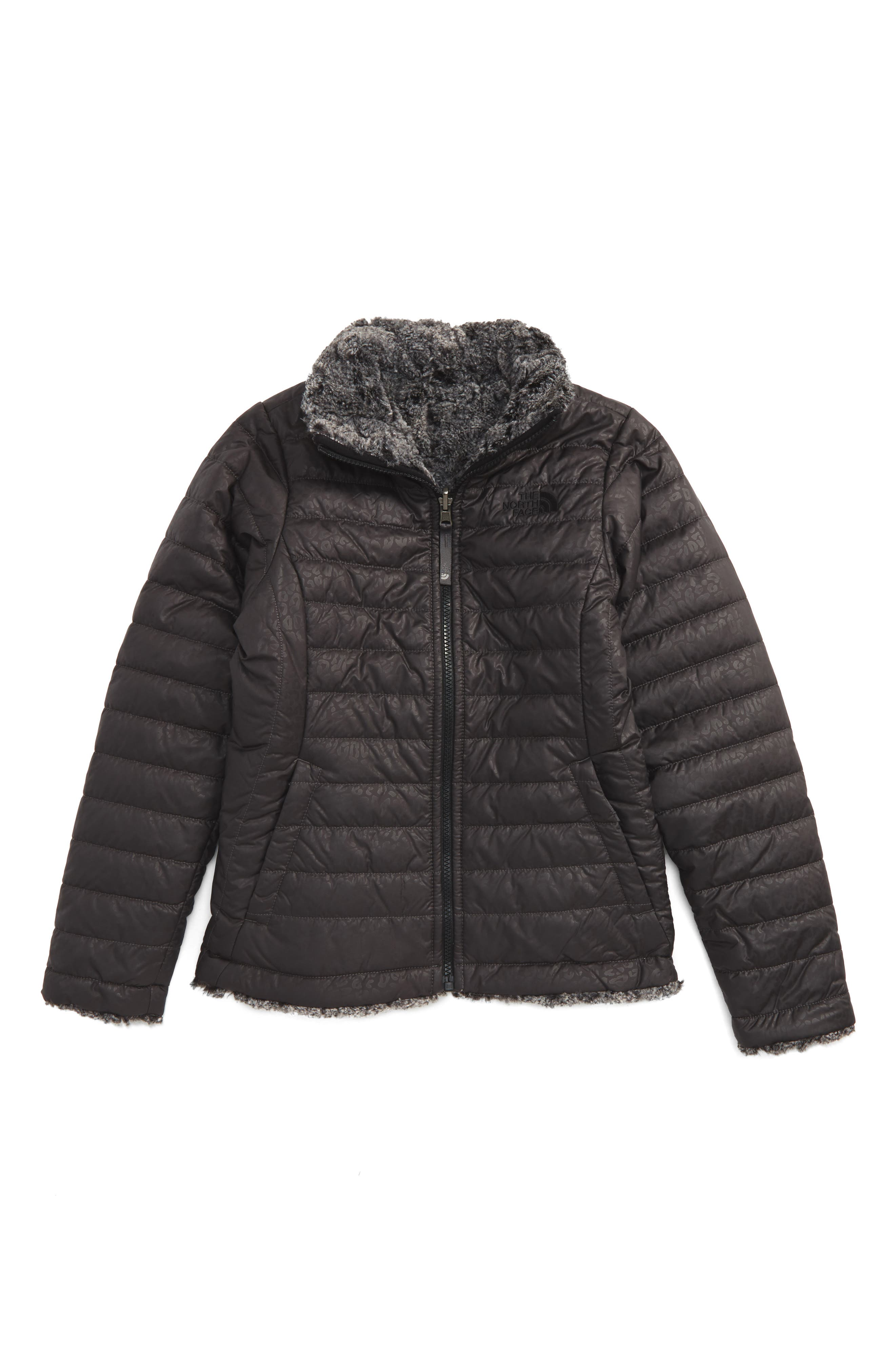 The North Face Mossbud Reversible Heatseeker™ Wind Resistant Jacket (Little Girls & Big Girls)