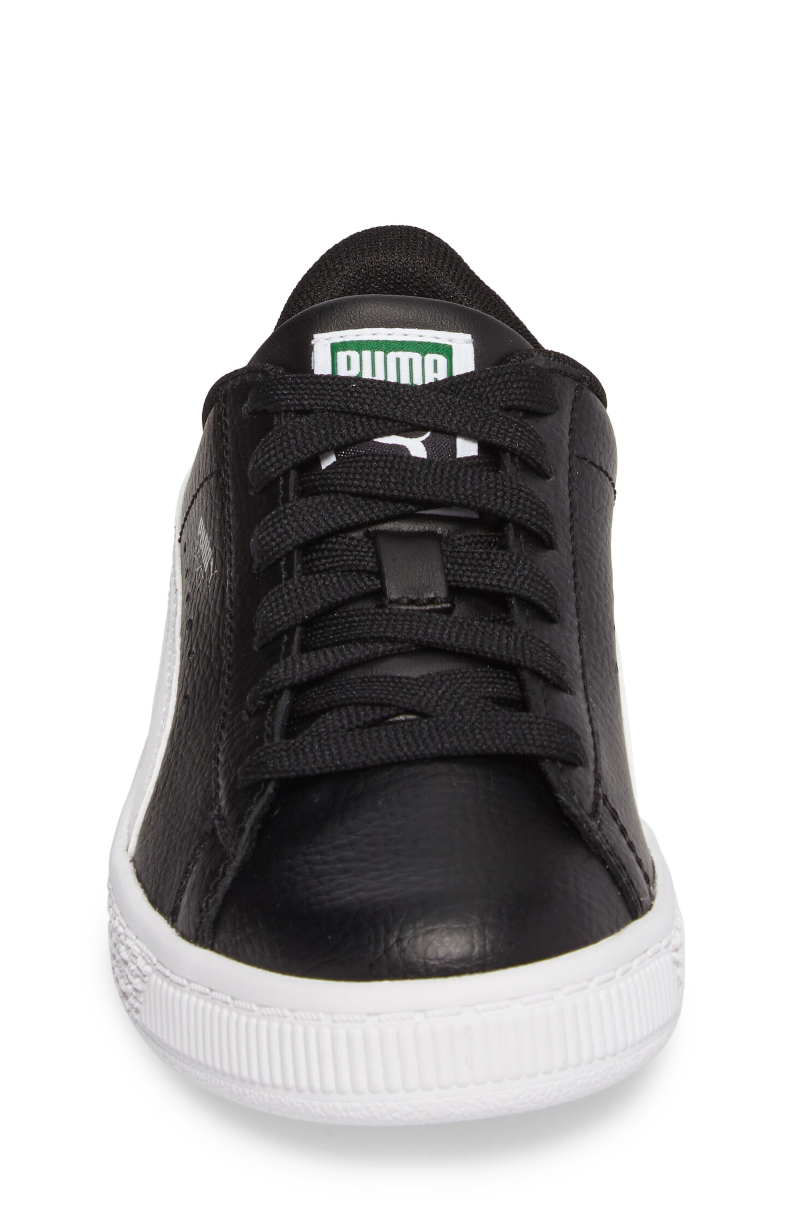 Alternate Image 4  - PUMA Basket Classic PS Sneaker (Toddler, Little Kid & Big Kid)