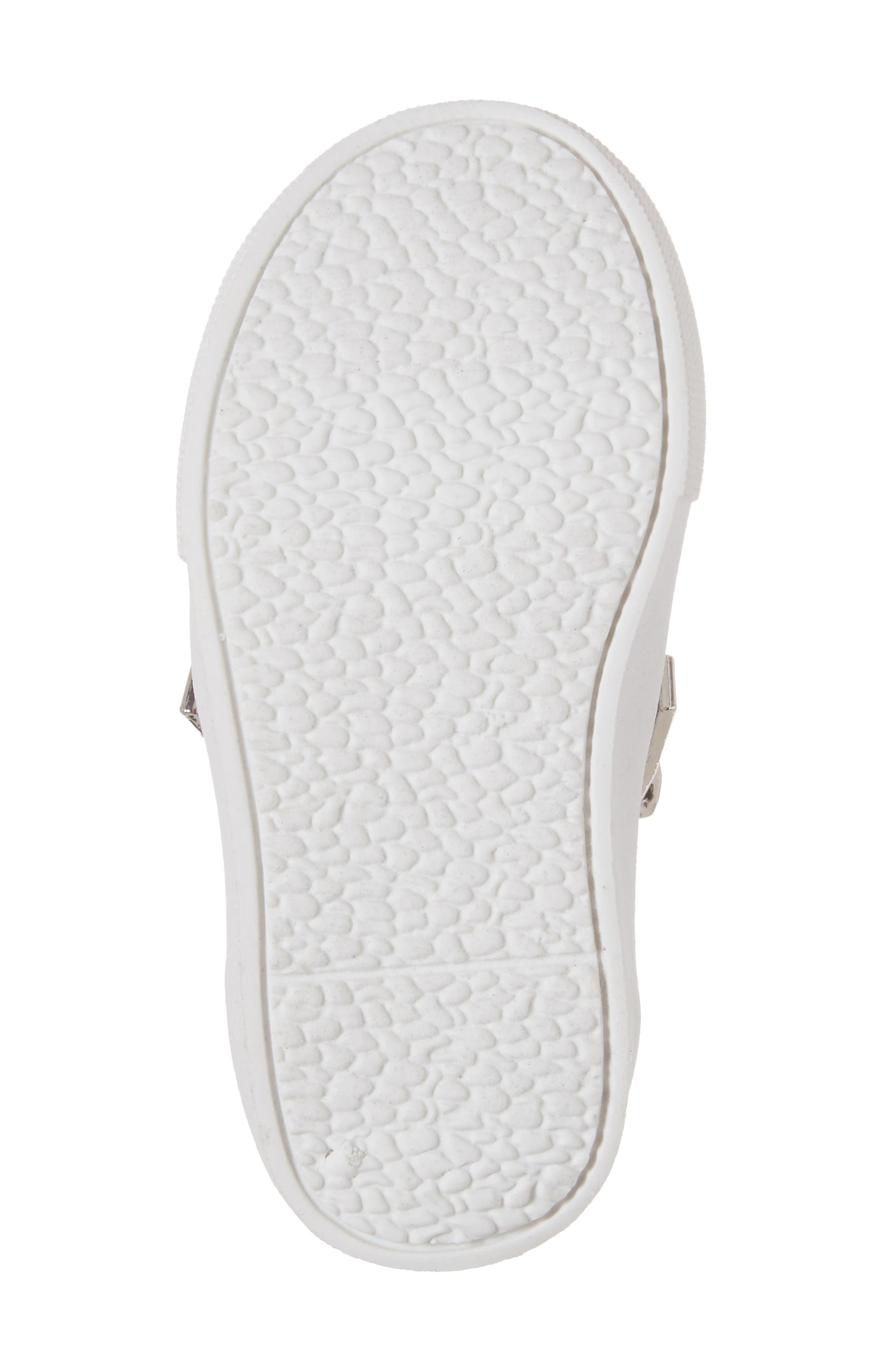 Alternate Image 6  - Kenneth Cole New York Kam Dory Embroidered Zip Sneaker (Walker & Toddler)