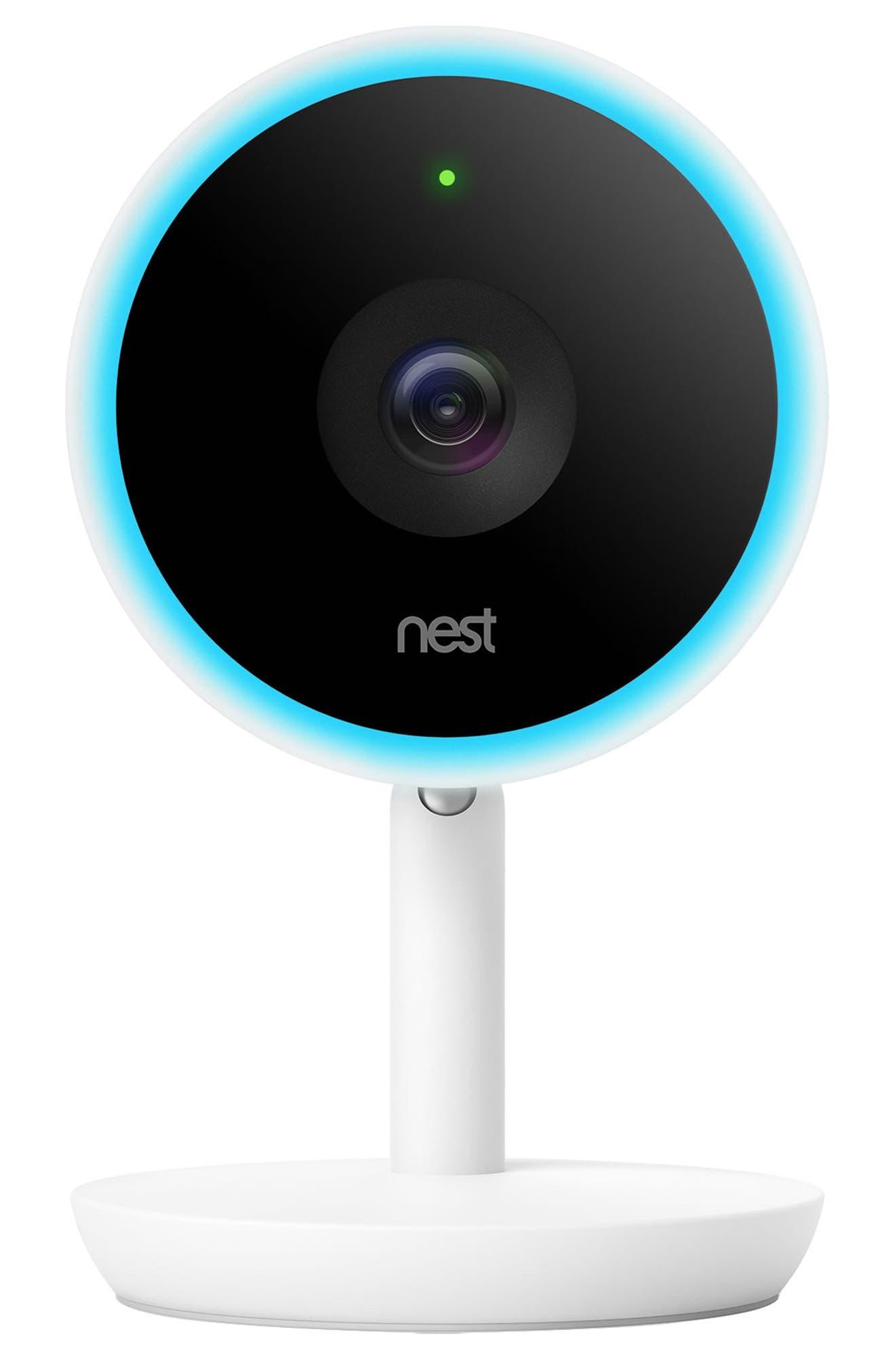 Cam IQ Indoor Security Camera,                         Main,                         color, White