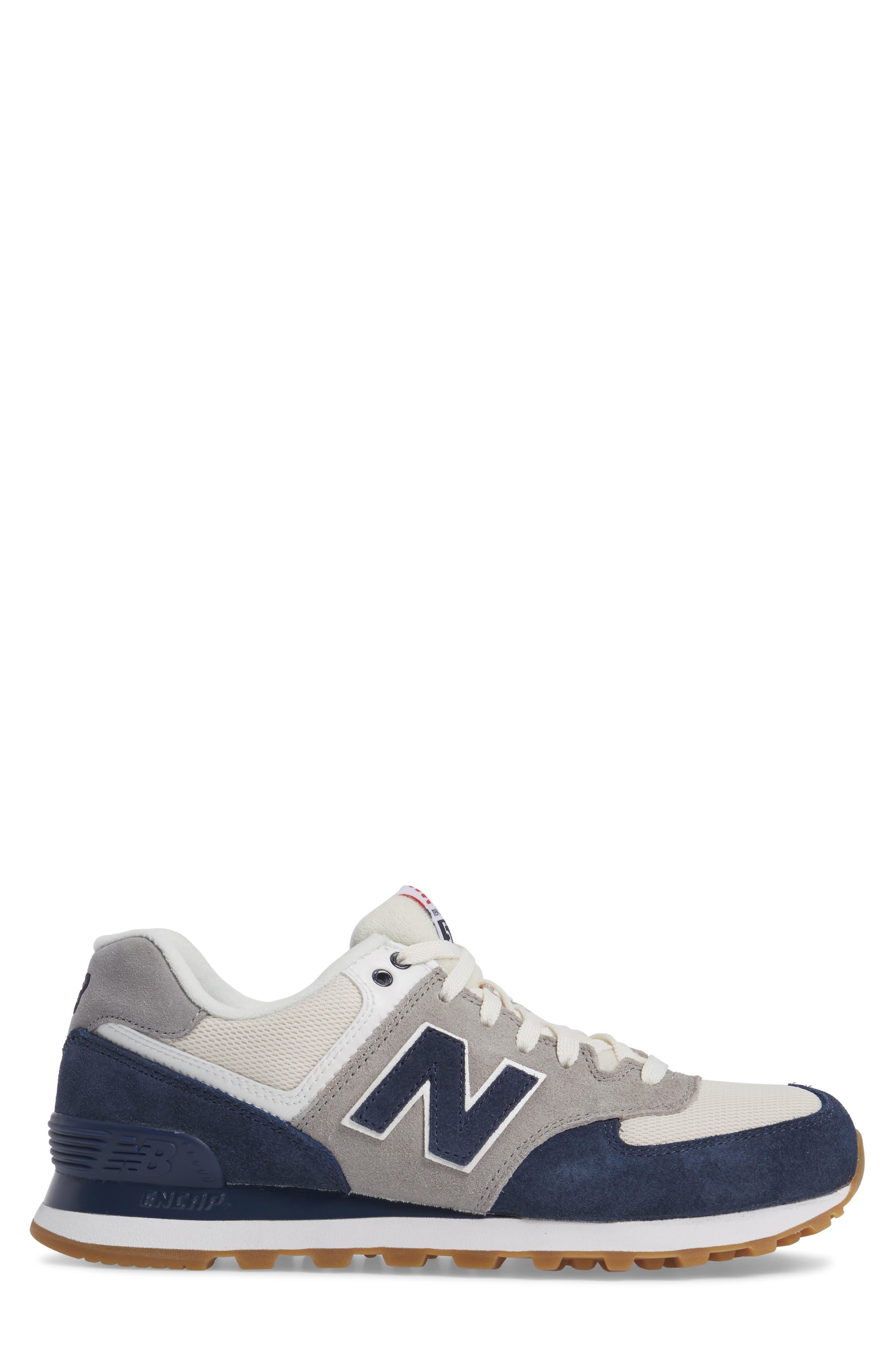 Alternate Image 3  - New Balance 574 Retro Sport Sneaker (Men)